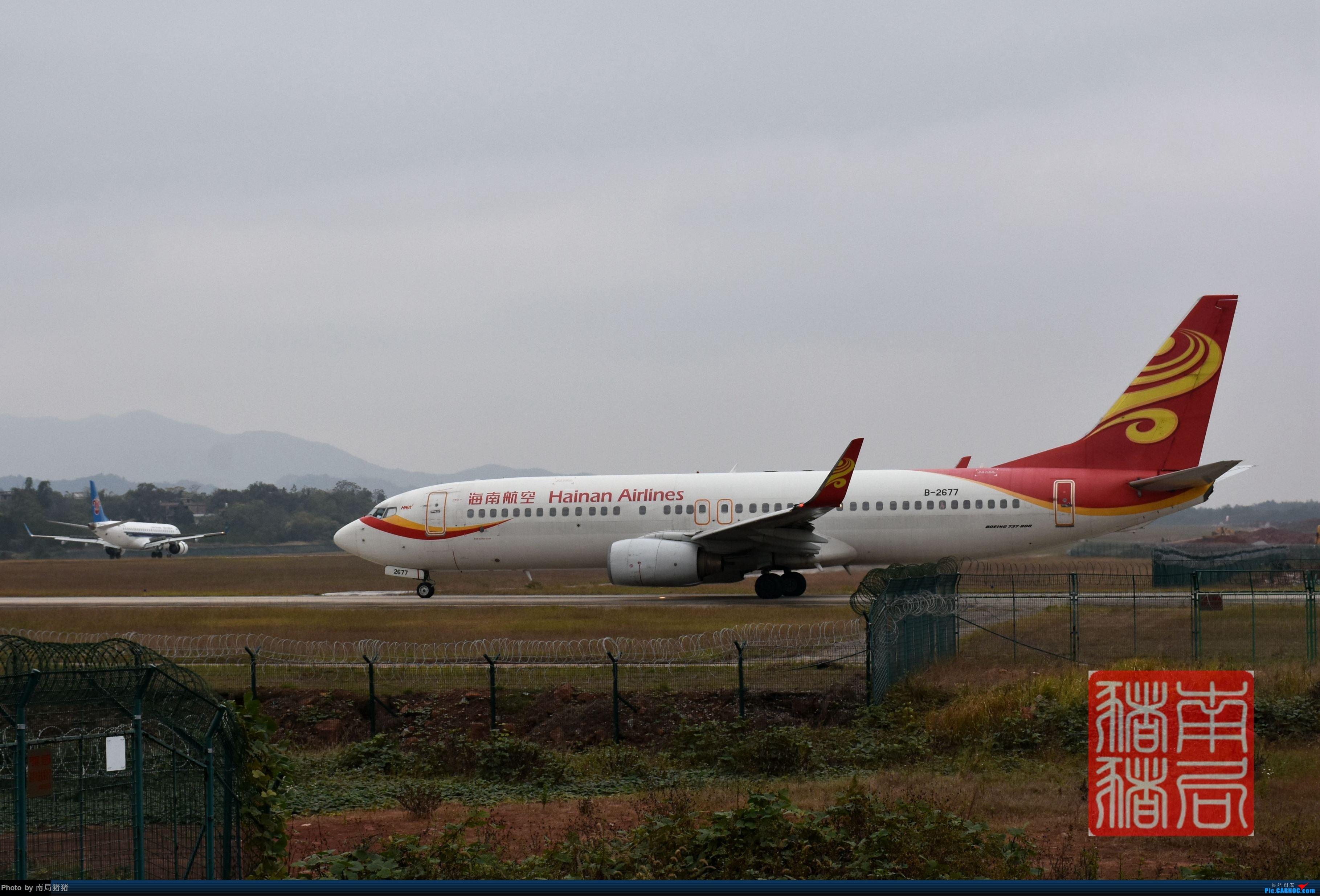 Re:[原创]KOW赣州黄金机场(通航运12,北部湾变形金刚) BOEING 737-800 B-2677 中国赣州黄金机场