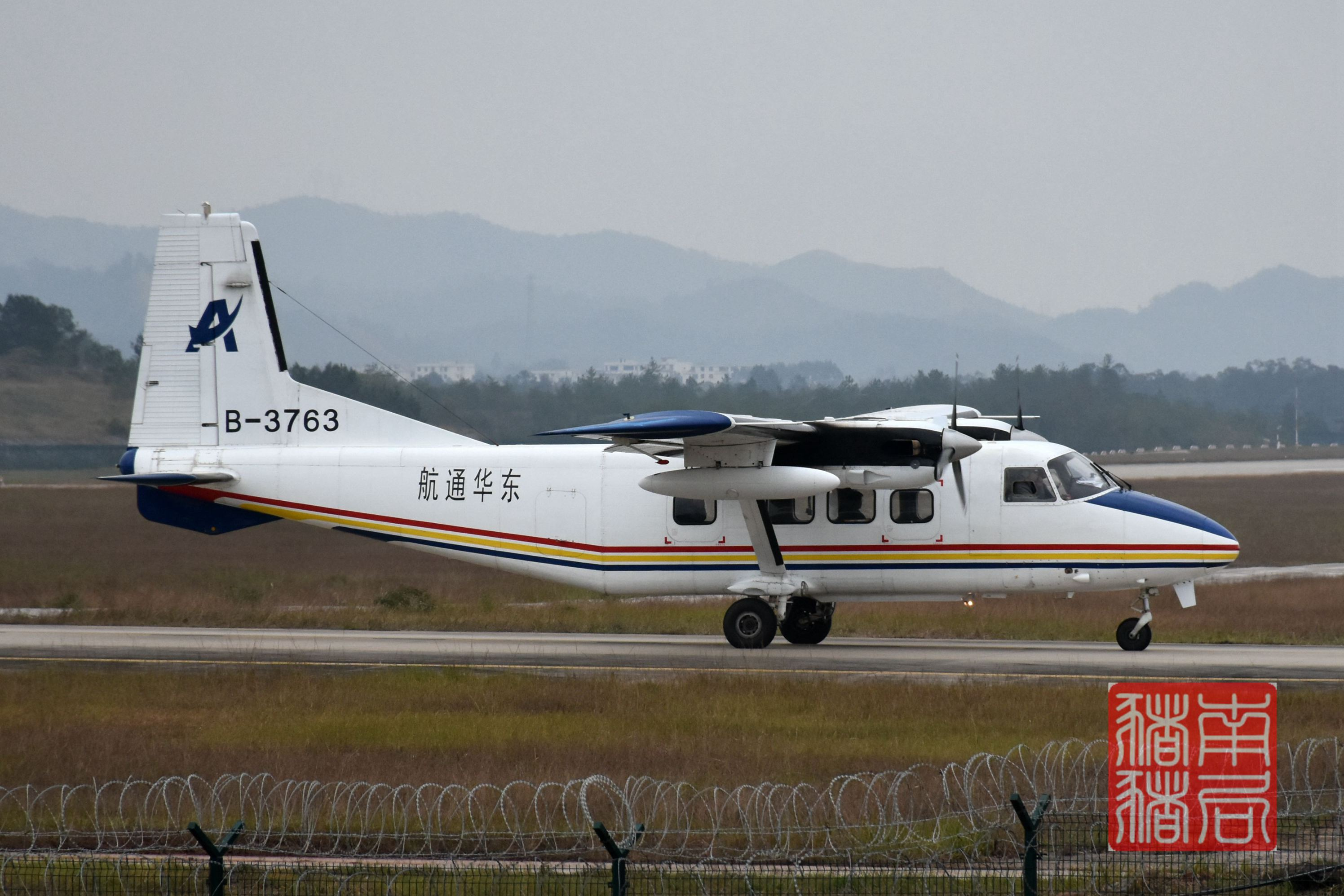 Re:[原创]KOW赣州黄金机场(通航运12,北部湾变形金刚) HAFEI Y12IV B-3763 中国赣州黄金机场