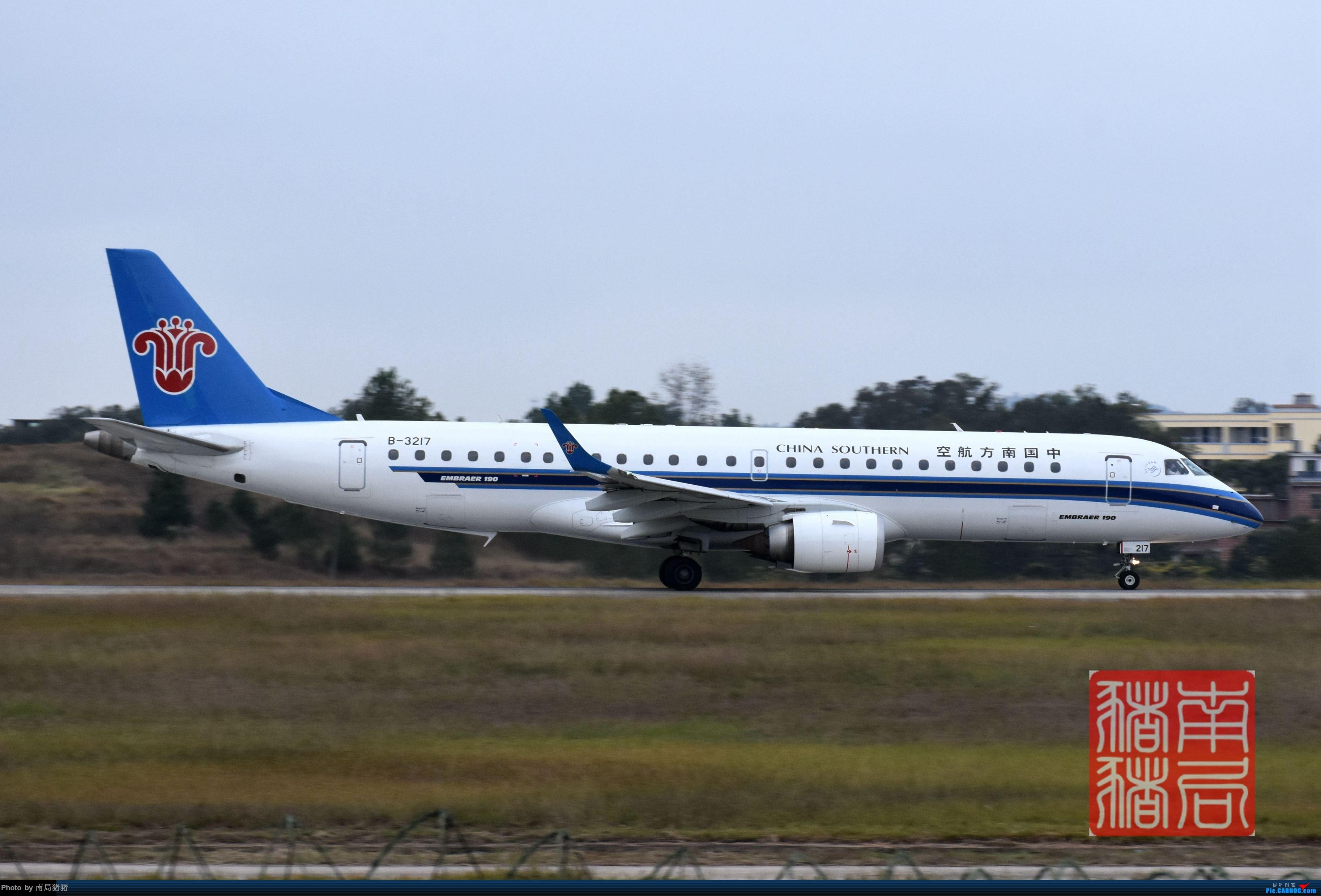 Re:[原创]KOW赣州黄金机场(通航运12,北部湾变形金刚) EMBRAER E-190 B-3217 中国赣州黄金机场
