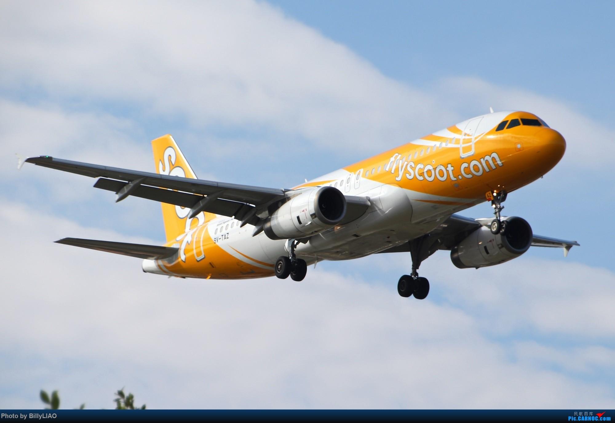 [原创]难得的好天,去趟CAN AIRBUS A320 9V-TAZ 中国广州白云国际机场