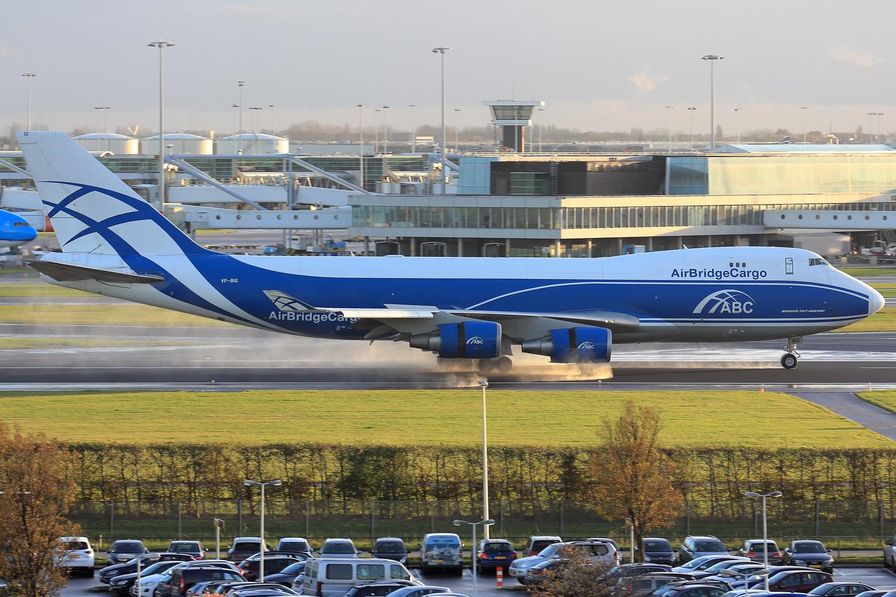Re:[原创]【AMS】伪塔台视角吹水几张 1800大图 BOEING 747-400 VP-BIG 荷兰阿姆斯特丹史基浦机场