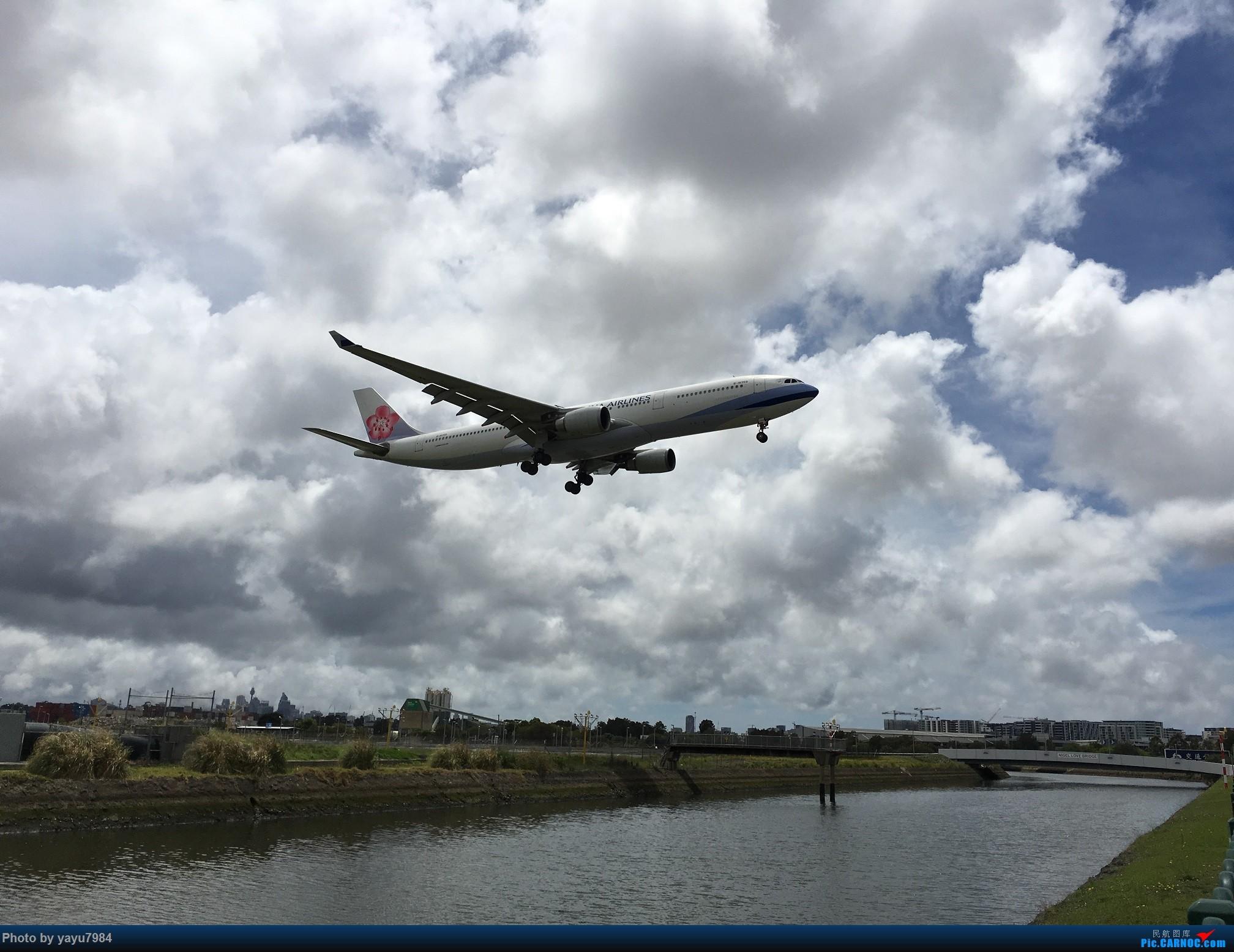 [原创][SYD] 华航A350帝雉号首航悉尼 + 村里的其他常客 AIRBUS A330-300 B-18359 澳大利亚悉尼金斯福德·史密斯机场
