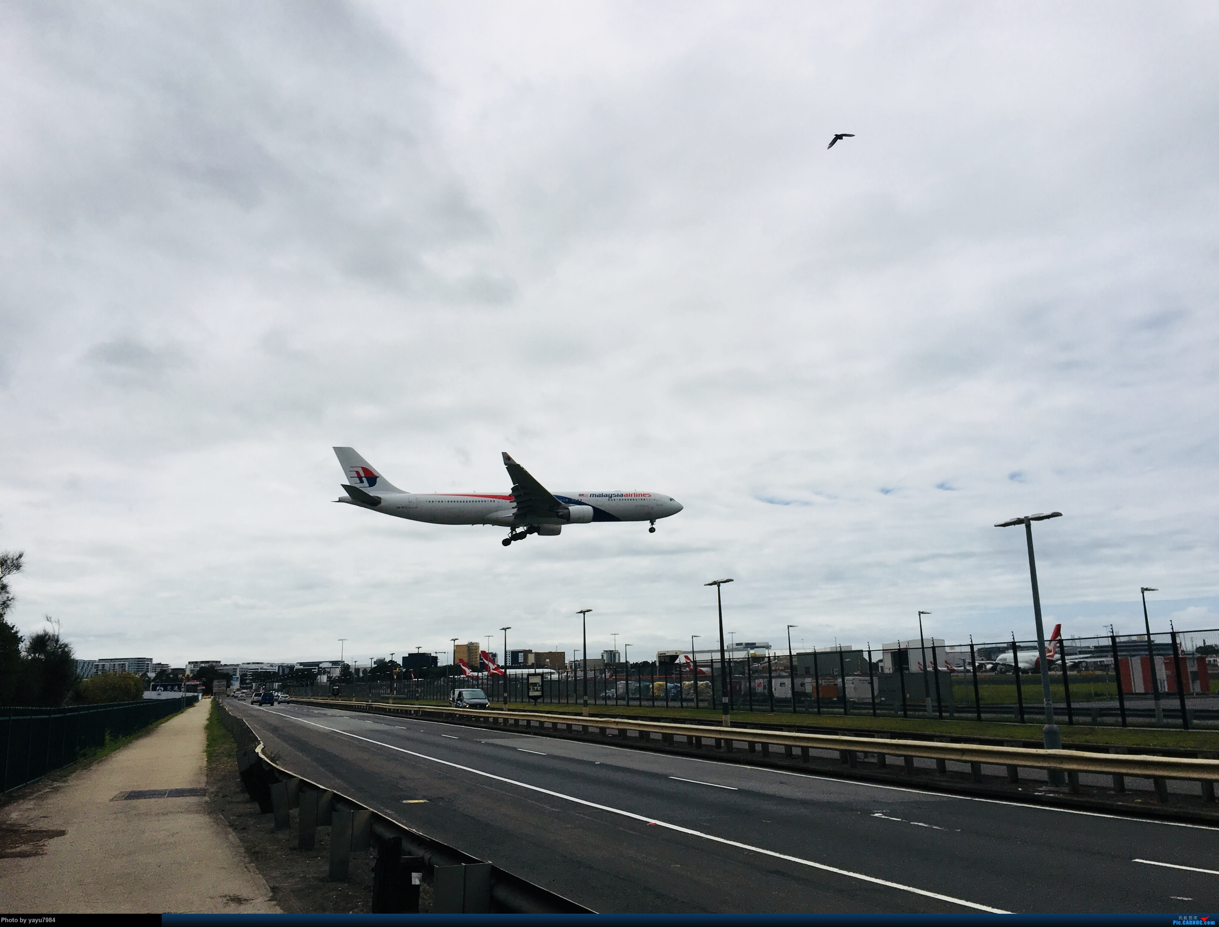 Re:[原创][SYD] 华航A350帝雉号首航悉尼 + 村里的其他常客 AIRBUS A330-300 9M-MTC 澳大利亚悉尼金斯福德·史密斯机场