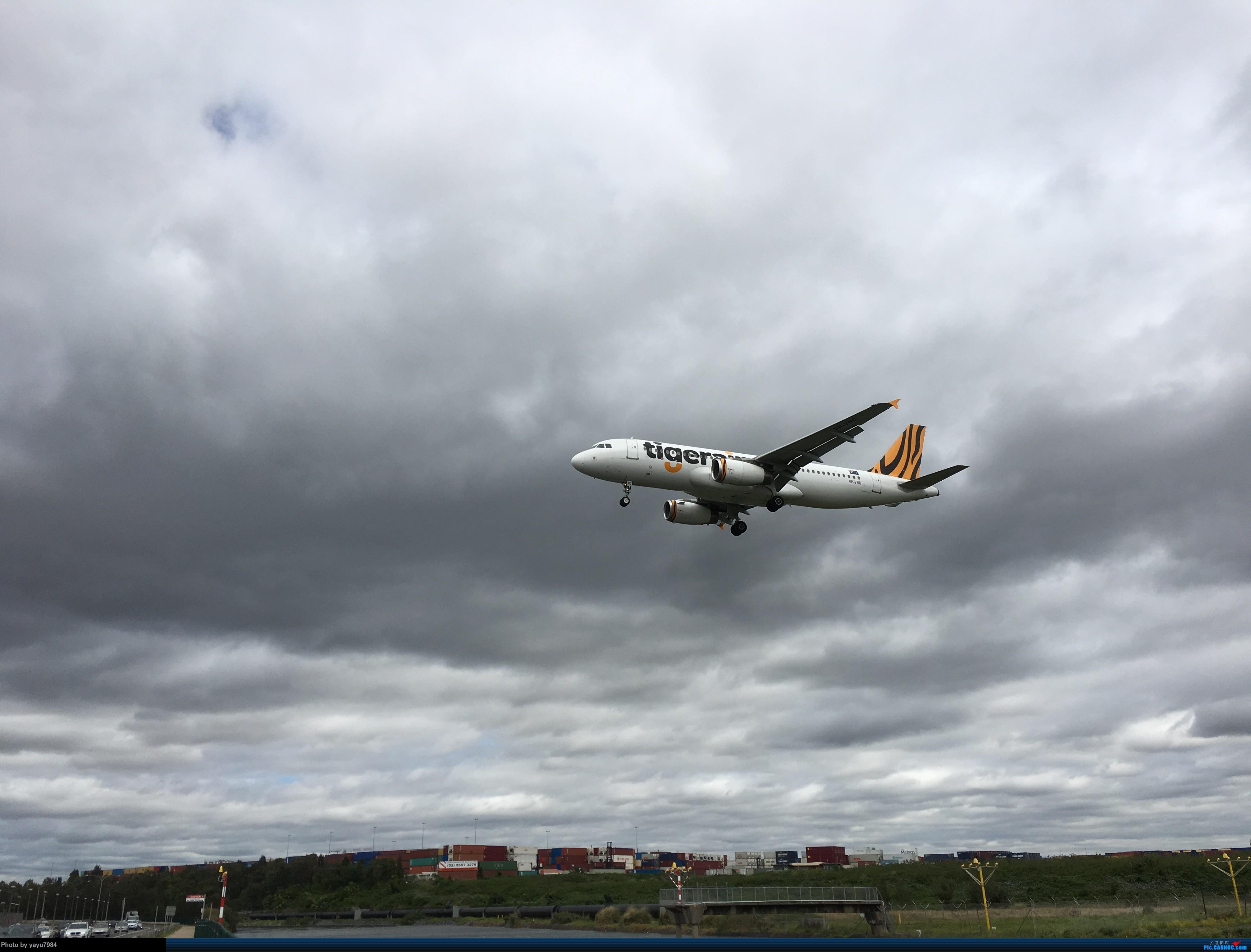 Re:[原创][SYD] 华航A350帝雉号首航悉尼 + 村里的其他常客 AIRBUS A320-200 VH-VNK 澳大利亚悉尼金斯福德·史密斯机场