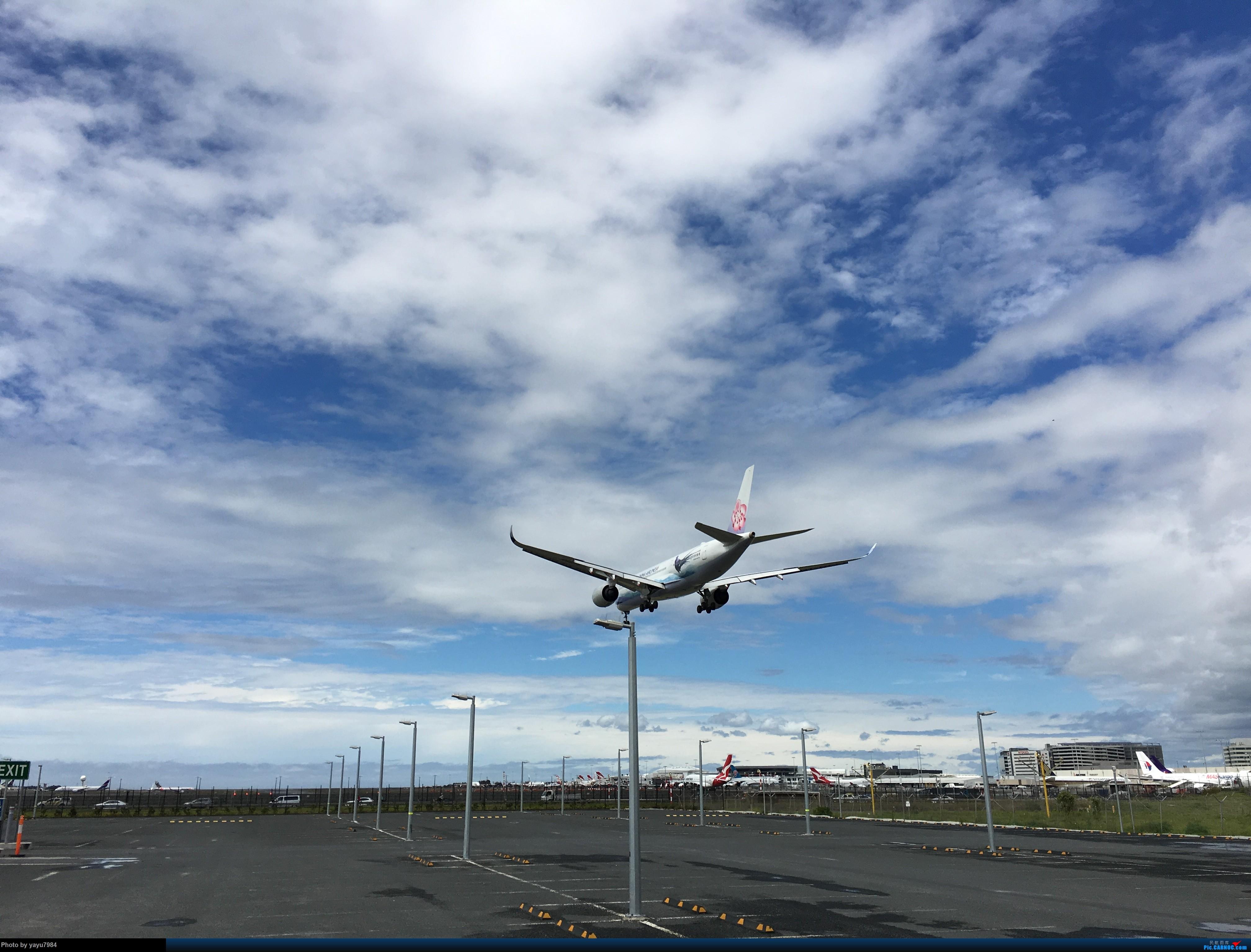 Re:[SYD] 华航A350帝雉号首航悉尼 + 村里的其他常客 AIRBUS A350-900 B-18901 澳大利亚悉尼金斯福德·史密斯机场