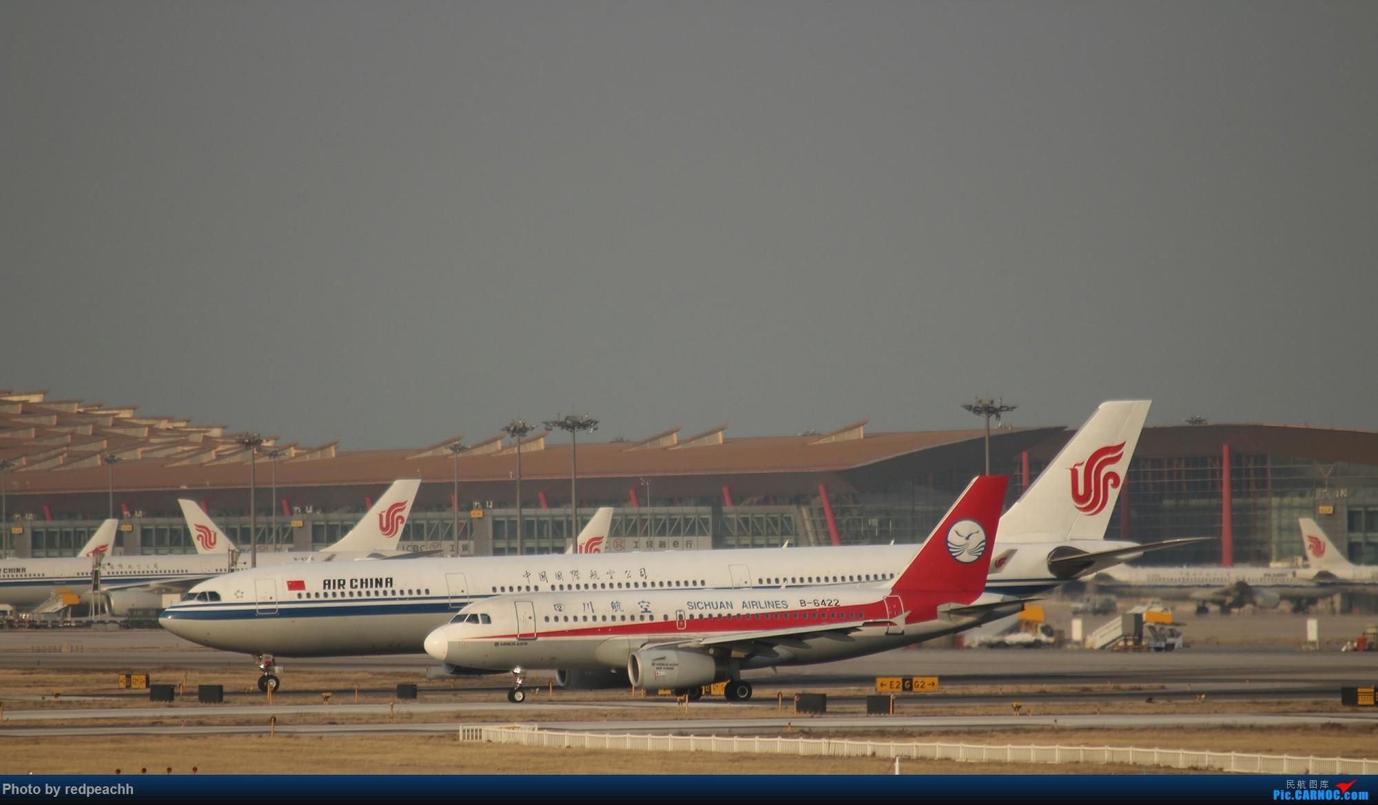 Re:[原创]渣机渣镜头之人生首次八卦台拍机(都是常规货) AIRBUS A319-100 B-6422 中国北京首都国际机场