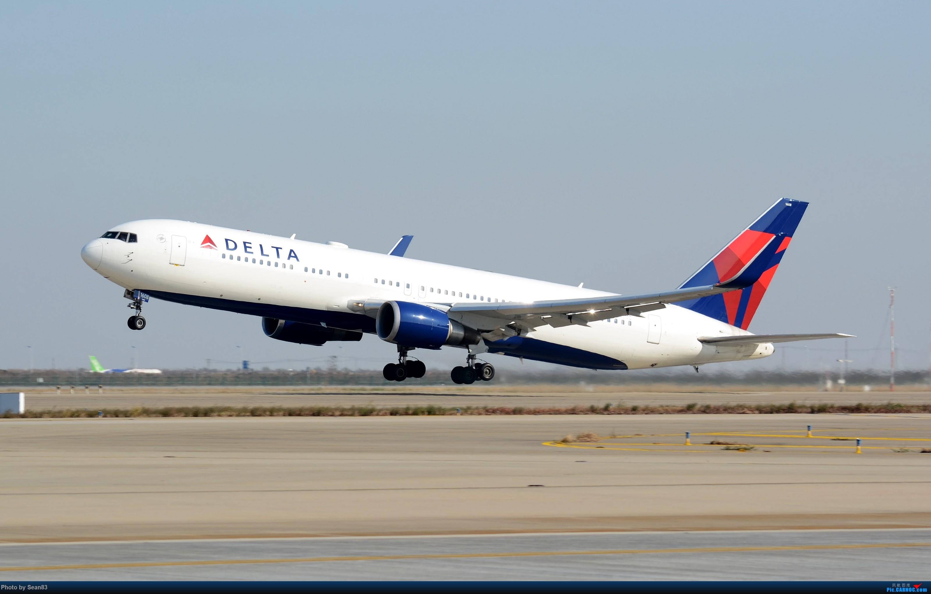Re:[原创](PVG 3200*)大洋彼岸的小钢炮 BOEING 767-300 N1608 上海浦东国际机场