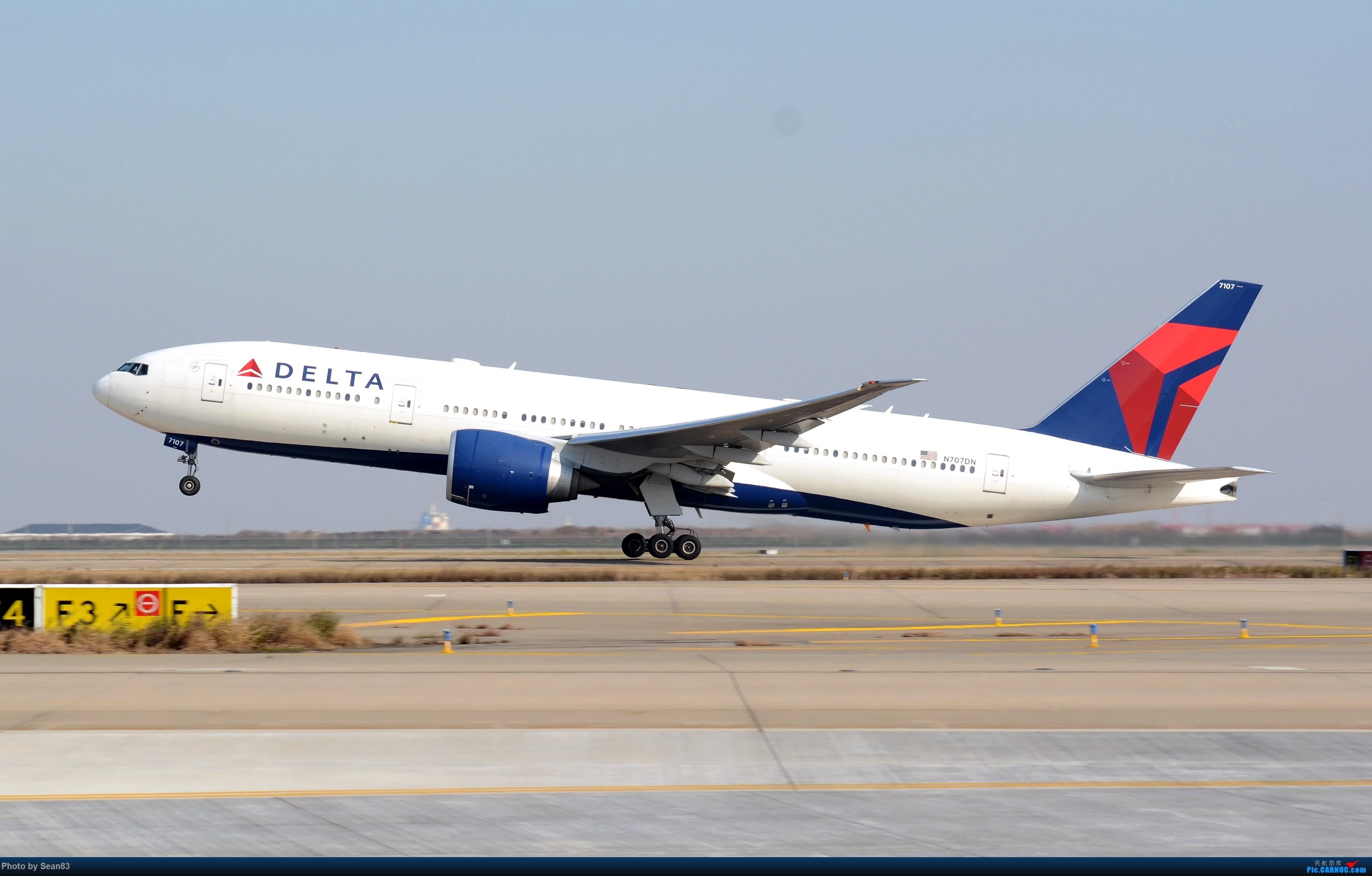 Re:[原创](PVG 3200*)大洋彼岸的小钢炮 BOEING 777-200LR N707DN 上海浦东国际机场