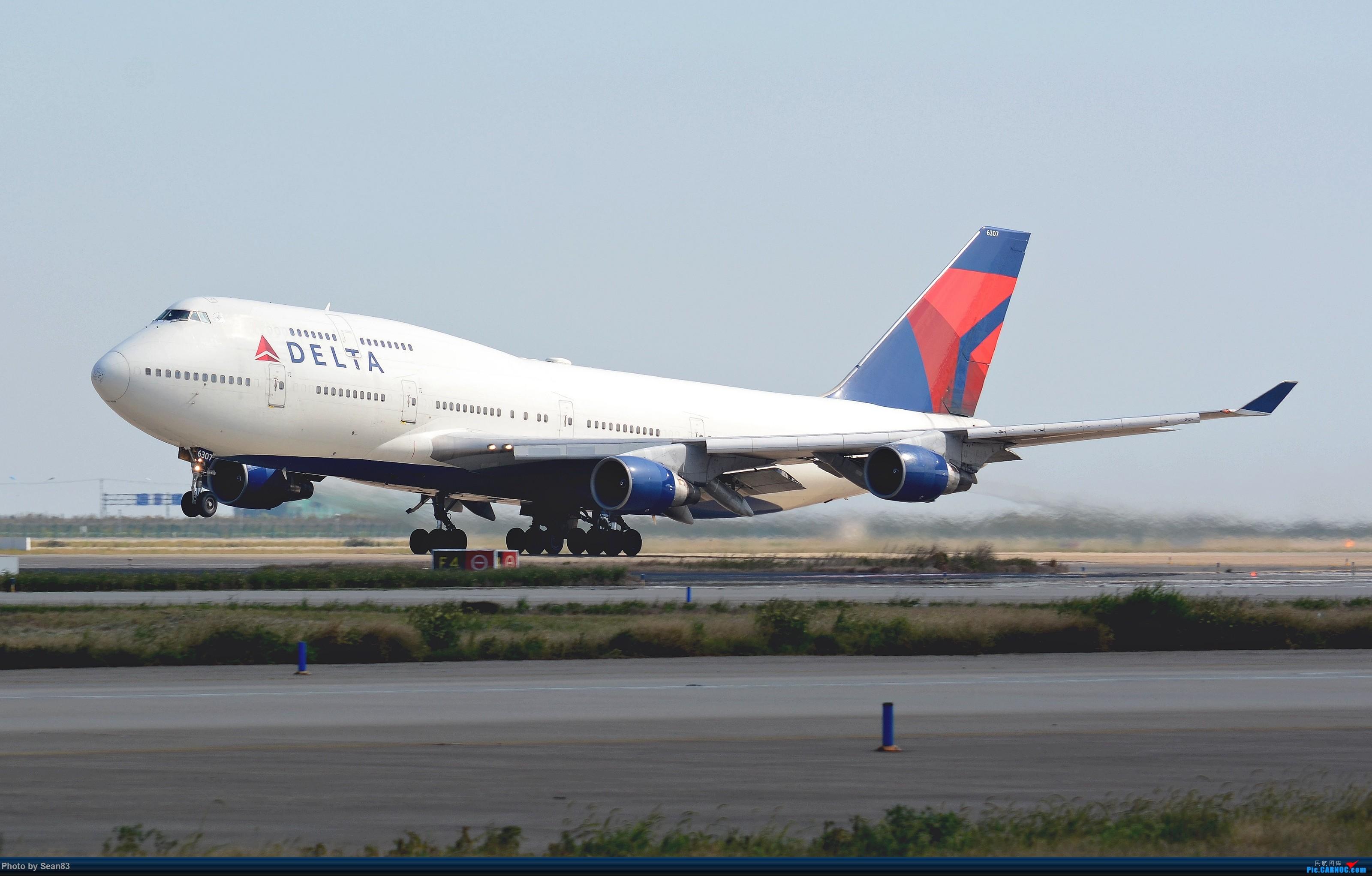 Re:[原创](PVG 3200*)大洋彼岸的小钢炮 BOEING 747-400 N6307US 上海浦东国际机场