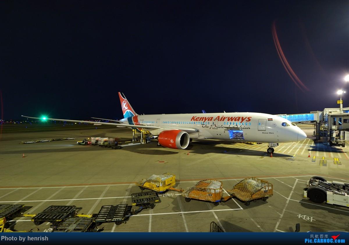 Re:【肥威的CAN】夜·白云6 BOEING 787-8 5Y-KZC 中国广州白云国际机场