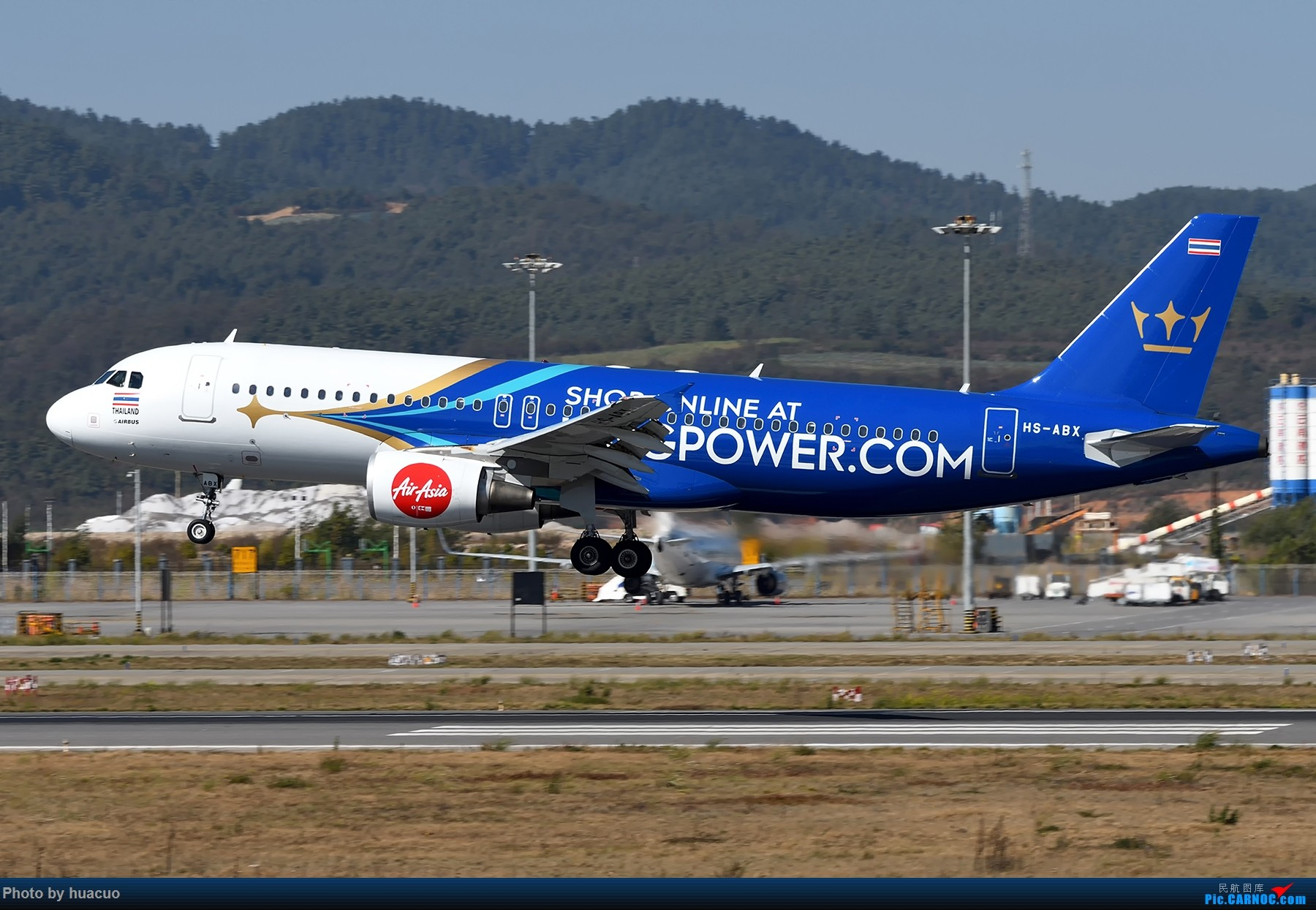 Re:【KMG】昆明航空滇池号 AIRBUS A320-200 HS-ABX 中国昆明长水国际机场