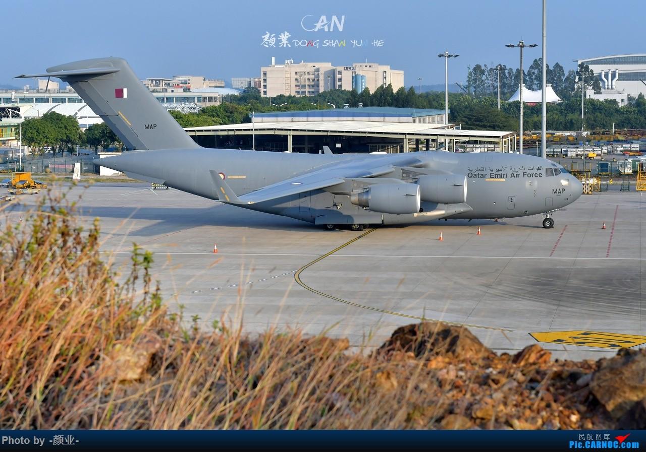 Re:[原创]CAN拍过的军机 C17 MAP 中国广州白云国际机场