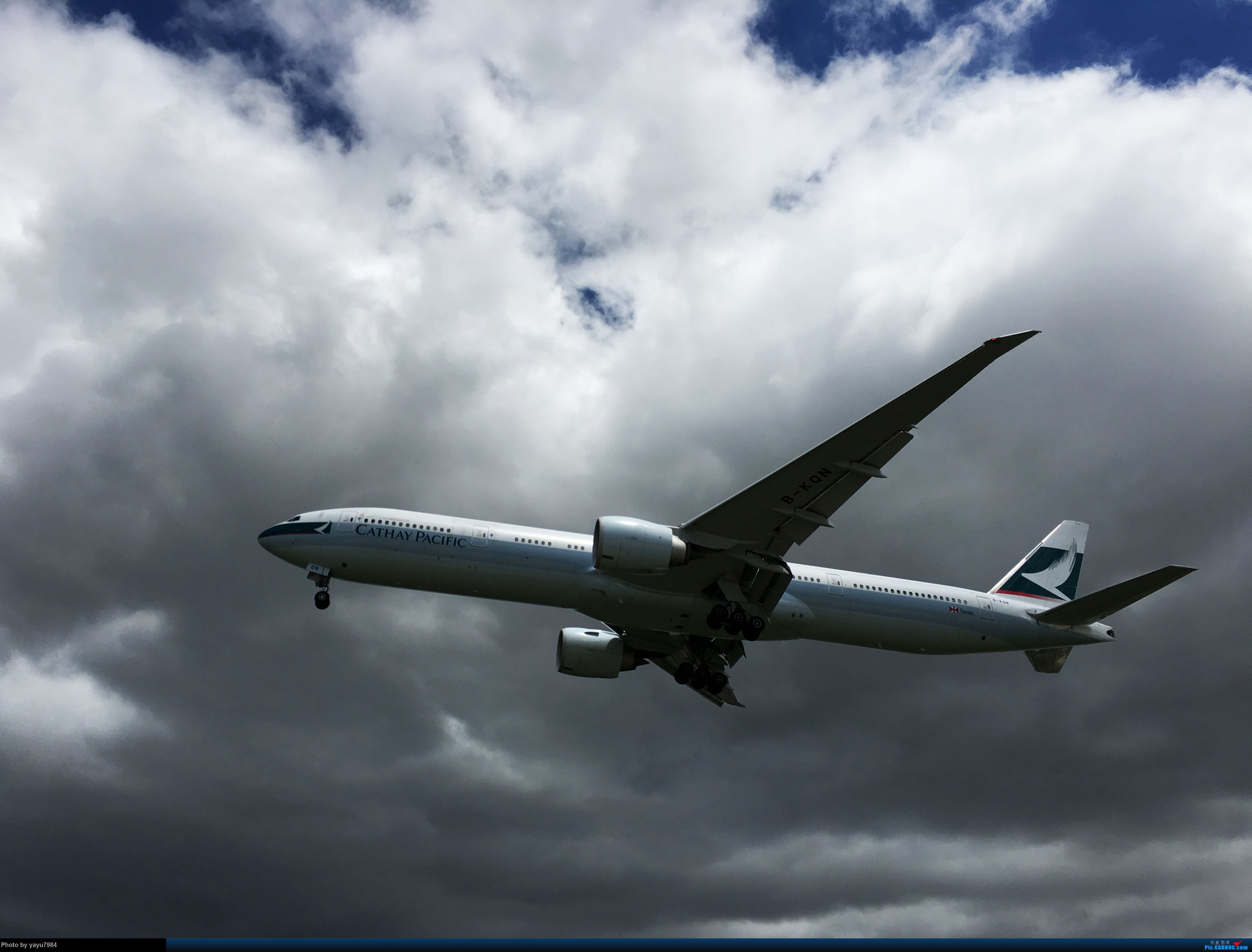 Re:[原创][SYD] 华航A350帝雉号首航悉尼 + 村里的其他常客 BOEING 777-300ER B-KQN 澳大利亚悉尼金斯福德·史密斯机场