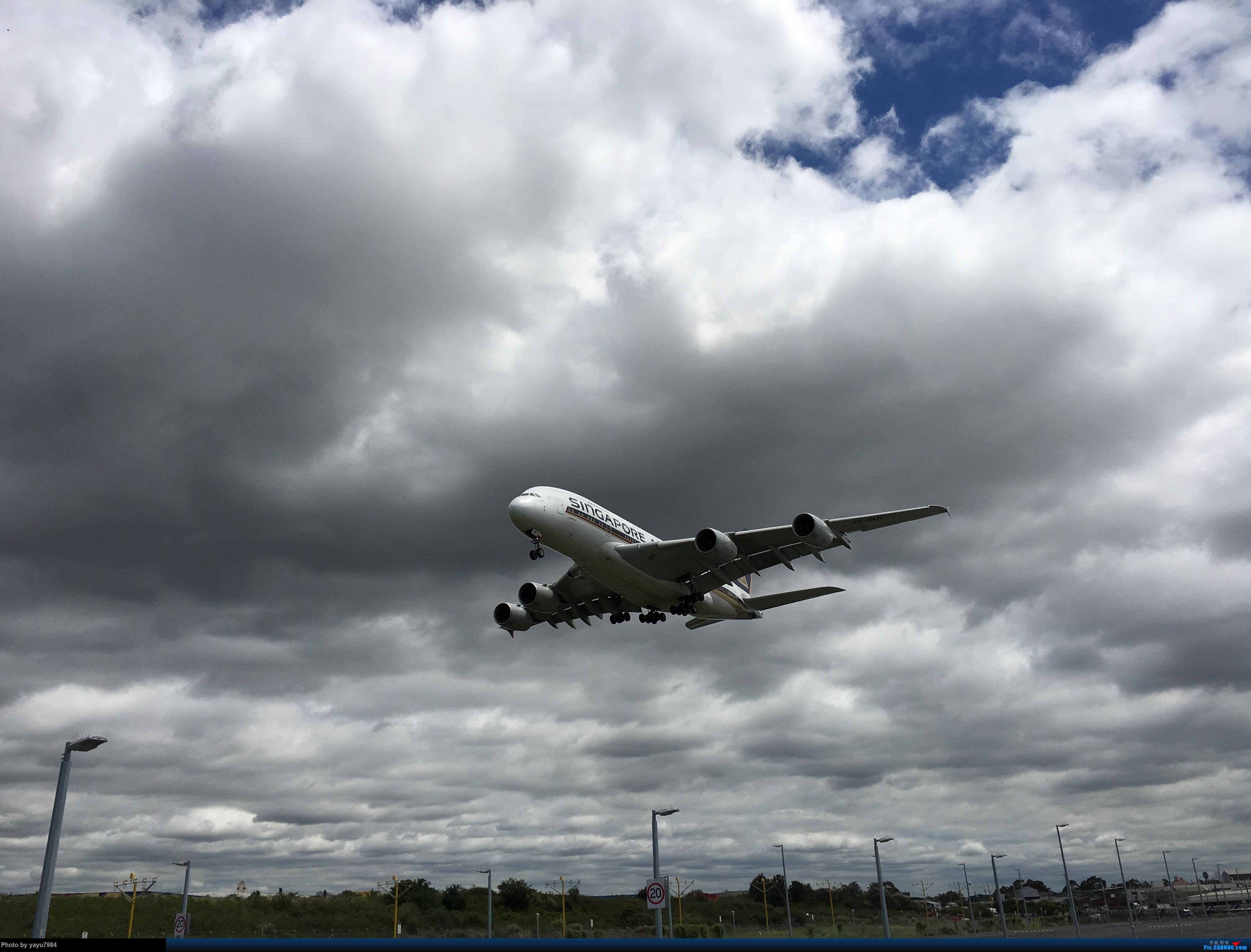 Re:[SYD] 华航A350帝雉号首航悉尼 + 村里的其他常客 AIRBUS A380-800 9V-SKH 澳大利亚悉尼金斯福德·史密斯机场