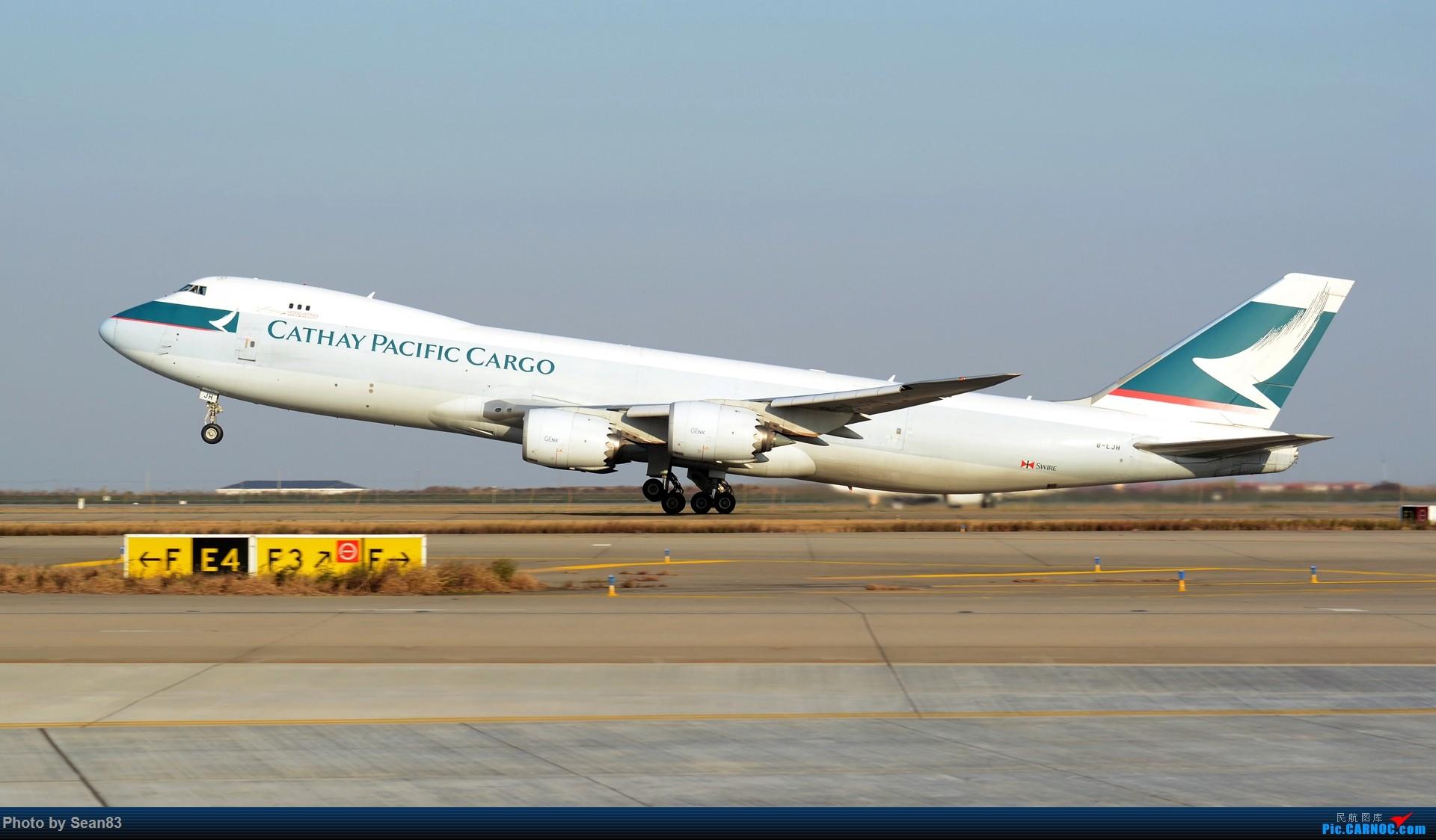 Re:[原创](1920*1080)放出一组壁纸 BOEING 747-8F B-LJH 上海浦东国际机场