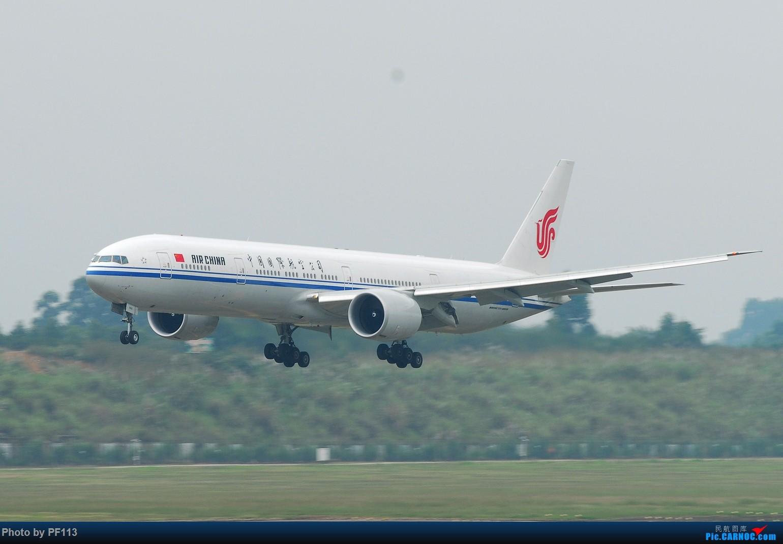 Re:[原创]一些着陆集锦 BOEING 777-300ER B-7952 中国成都双流国际机场