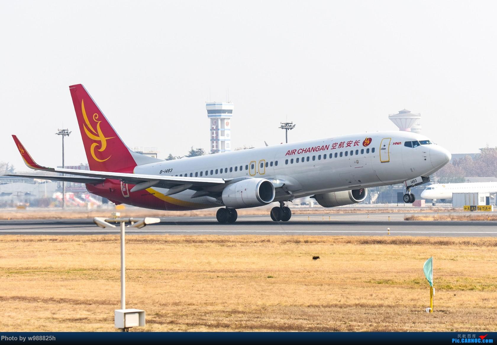 Re:[原创]【西安土著】换机后XIY首拍 就当提前给四千万庆功了 BOEING 737-800 B-1483 中国西安咸阳国际机场