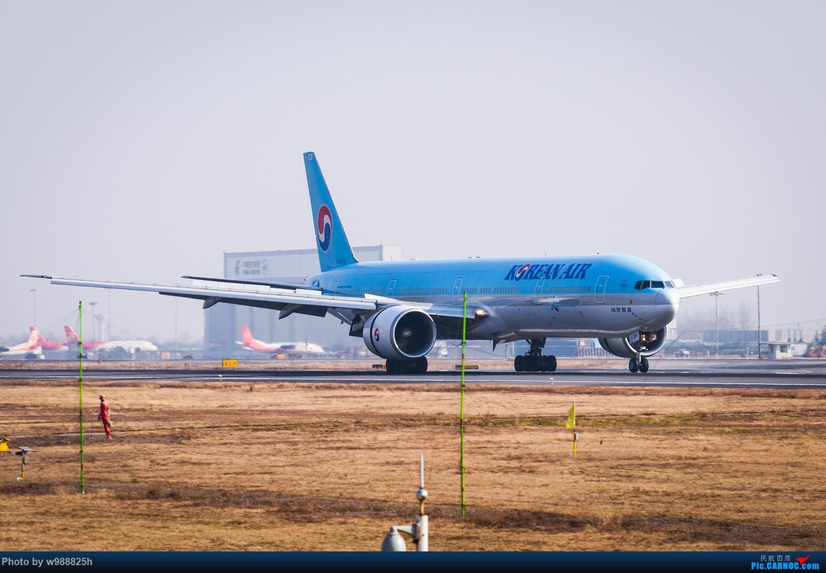 Re:[原创]【西安土著】换机后XIY首拍 就当提前给四千万庆功了 BOEING 777-300ER HL-8274 中国西安咸阳国际机场