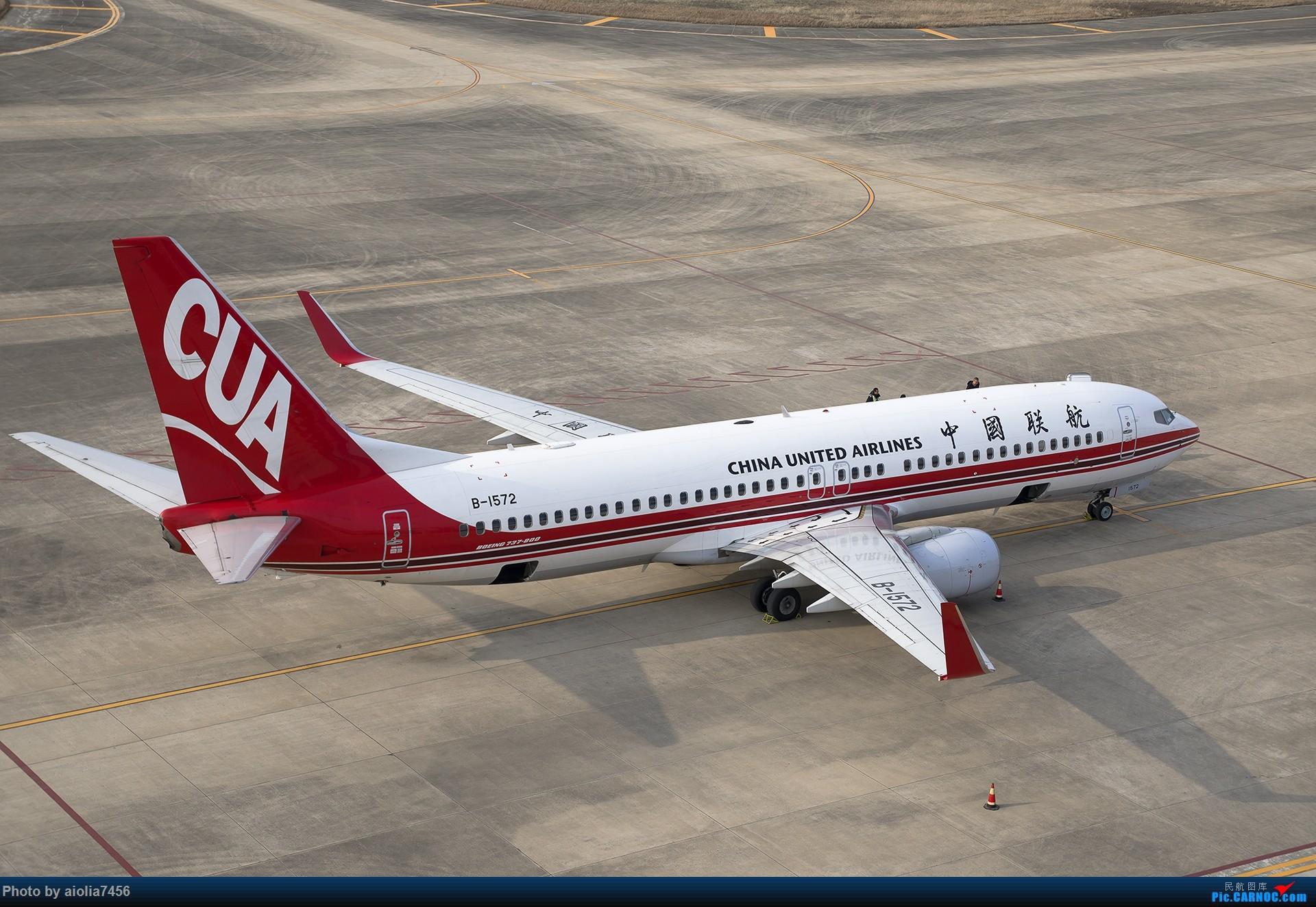 Re:[原创]【霸都打机队】换了机器后的第一帖-安徽小机场之旅 BOEING 737-800 B-1572 中国阜阳西关机场