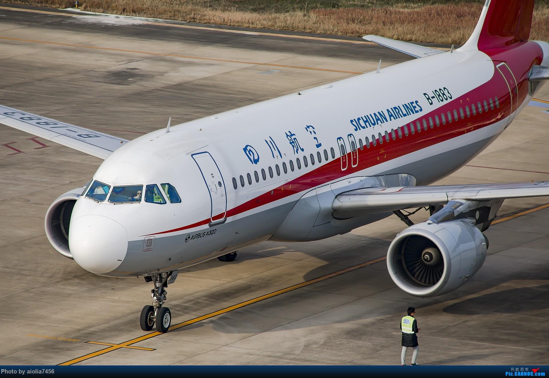 Re:[原创]【霸都打机队】换了机器后的第一帖-安徽小机场之旅 AIRBUS A320-200 B-1883 中国阜阳西关机场