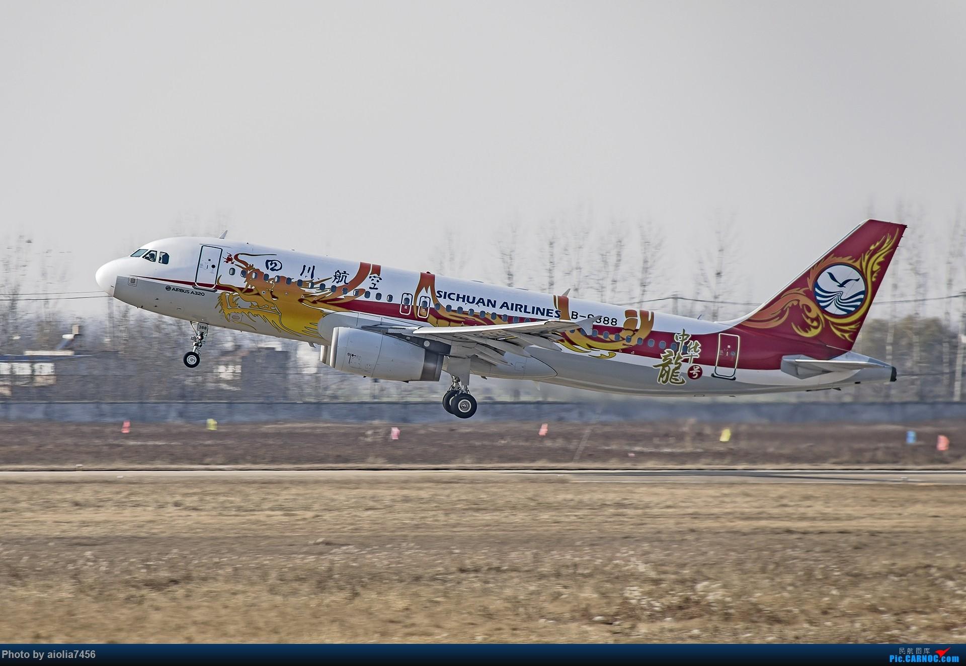 Re:[原创]【霸都打机队】换了机器后的第一帖-安徽小机场之旅 AIRBUS A320-200 B-6388 中国阜阳西关机场