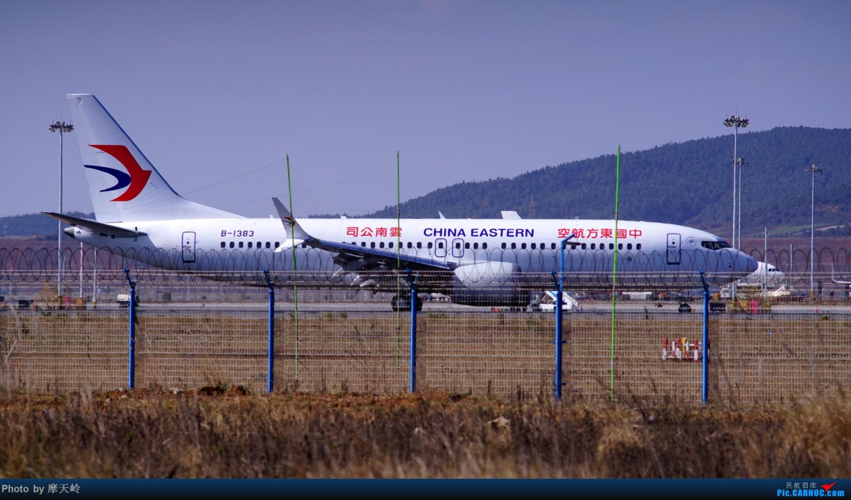 Re:[原创]长水尽是小家伙 BOEING 737MAX-8 1383 中国昆明长水国际机场