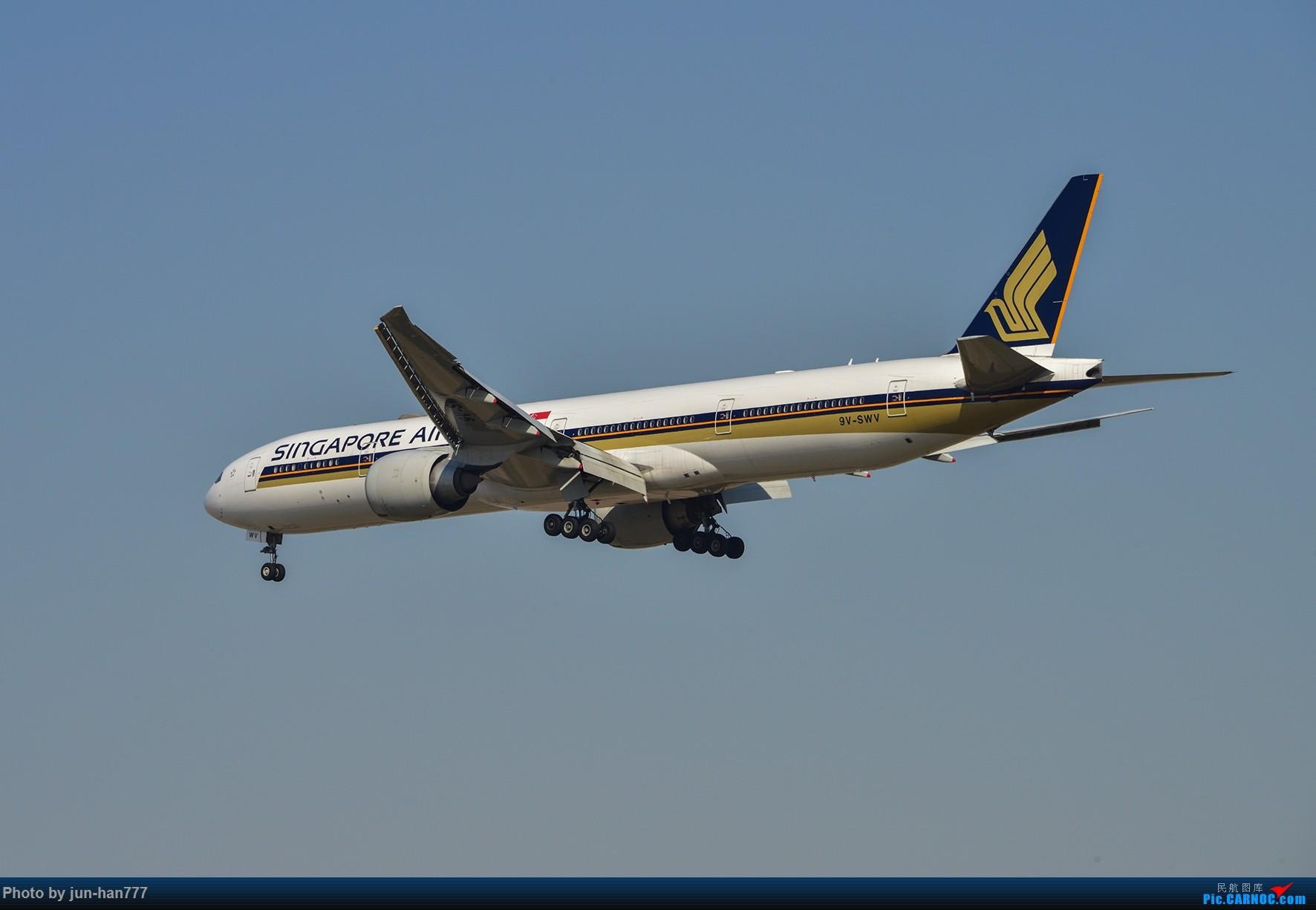Re:[原创]新航773 BOEING 777-300