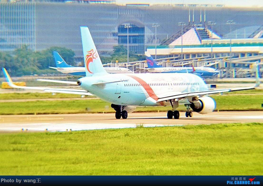 Re:[原创]发点图吧!国庆海口美兰拍机(由于手机拍摄,画质请谅解) AIRBUS A320-200 B-8145 中国海口美兰国际机场