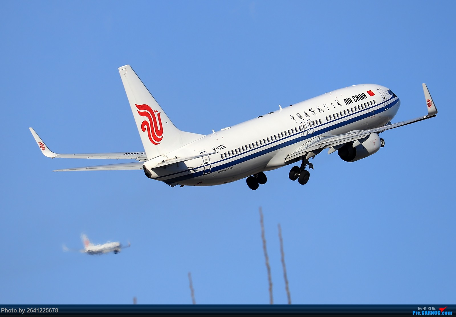 Re:[原创]【ZBAA】飞•向•朝•阳 BOEING 737-800 B-1766 中国北京首都国际机场