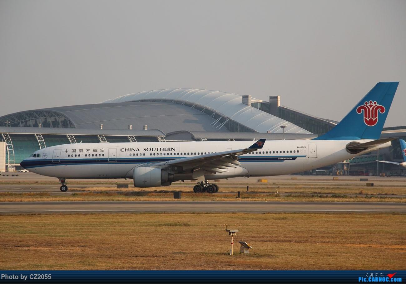 Re:[原创]【CZ2055】【CAN】马上就2018了,2017还没打过鸟。 AIRBUS A330-200 B-6515 中国广州白云国际机场