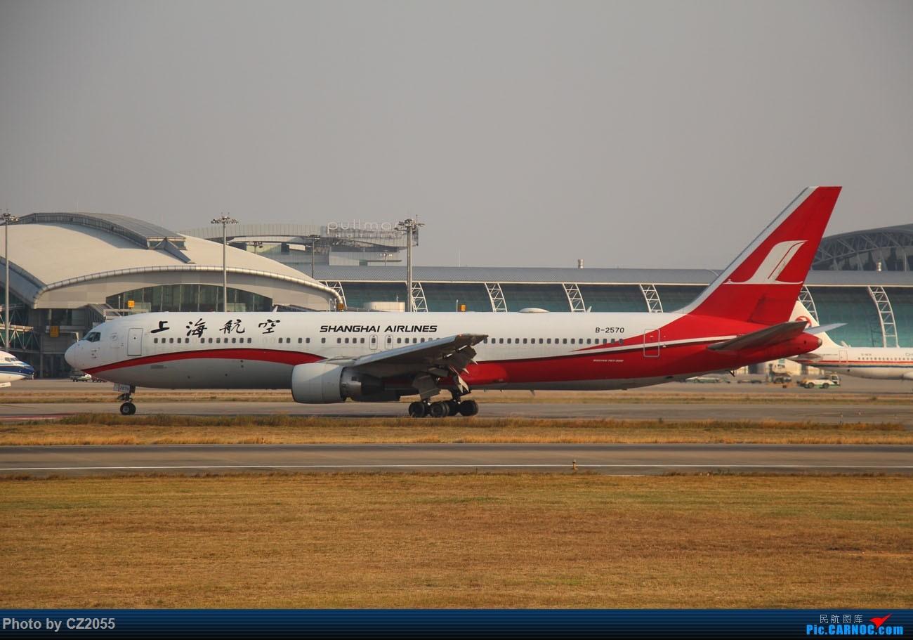 Re:[原创]【CZ2055】【CAN】马上就2018了,2017还没打过鸟。 BOEING 767-300 B-2570 中国广州白云国际机场