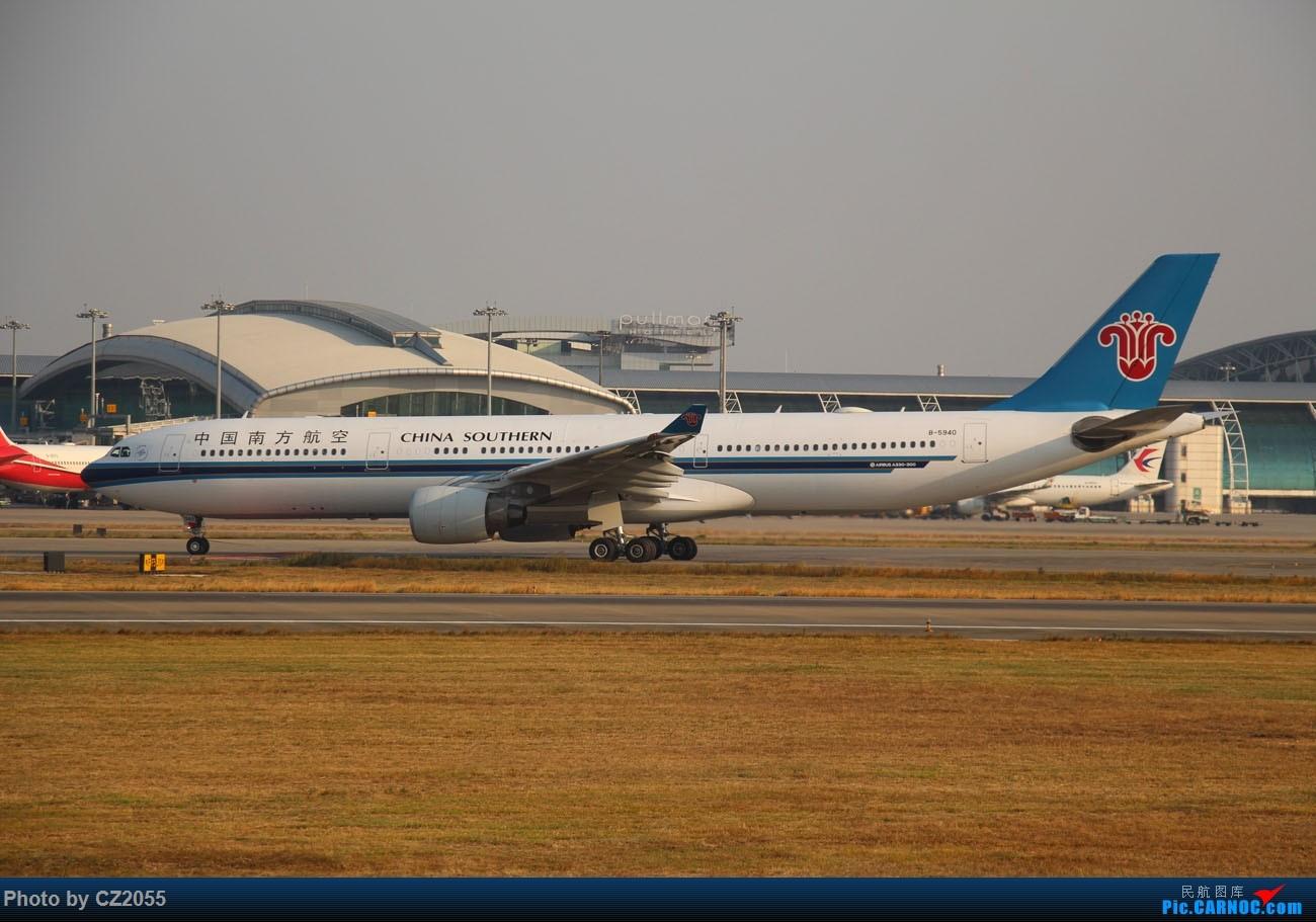 Re:[原创]【CZ2055】【CAN】马上就2018了,2017还没打过鸟。 AIRBUS A330-300 B-5940 中国广州白云国际机场
