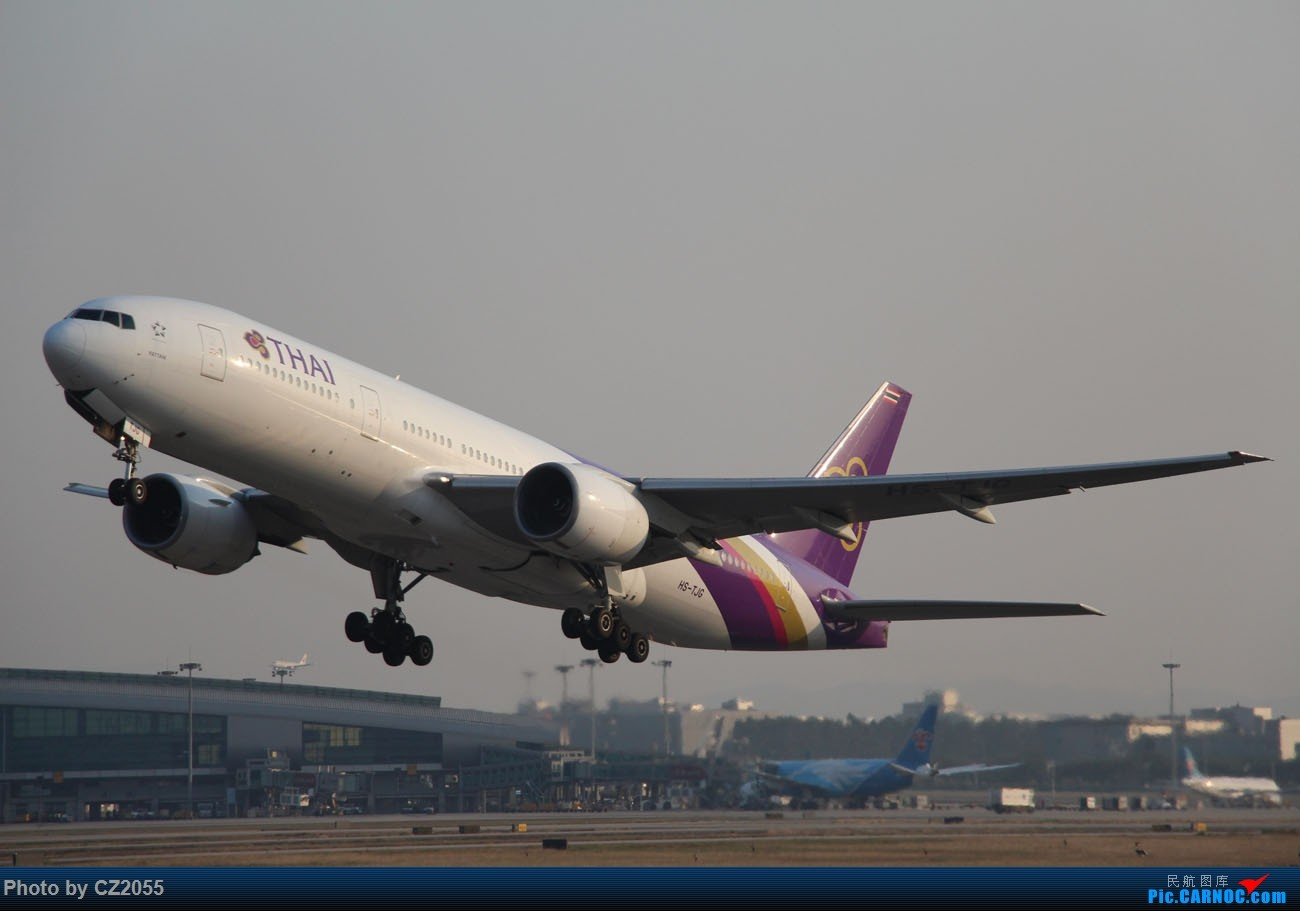 Re:[原创]【CZ2055】【CAN】马上就2018了,2017还没打过鸟。 BOEING 777-200 HS-TJG 中国广州白云国际机场