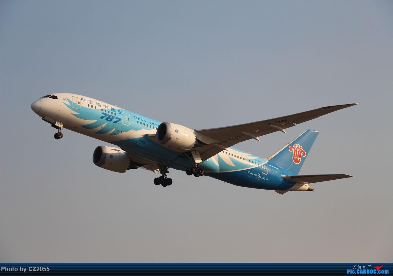 Re:[原创]【CZ2055】【CAN】马上就2018了,2017还没打过鸟。 BOEING 787-8 B-2788 中国广州白云国际机场