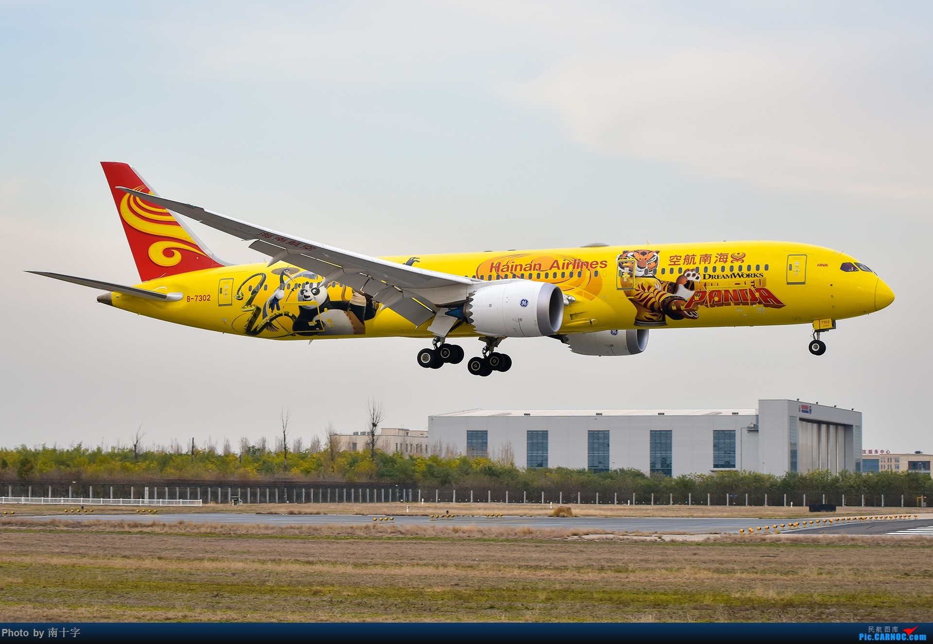 Re:[原创]「懒癌晚期突然来了精神」发发十一月的一次PEK拍机 BOEING 787-9 B-7302 中国北京首都国际机场