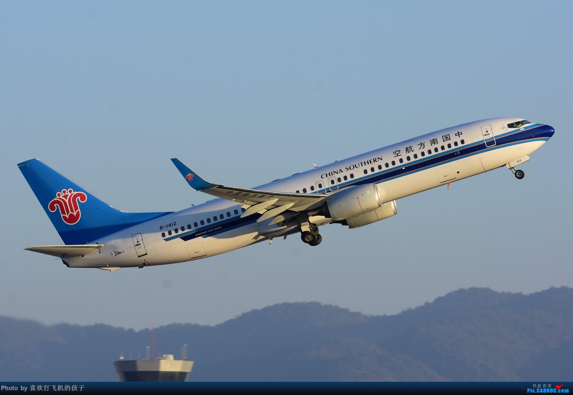 Re:[原创]【昆明飞友会】2017年最后一贴,昆明长水国际机场 BOEING 737-800 B-1412 中国昆明长水国际机场