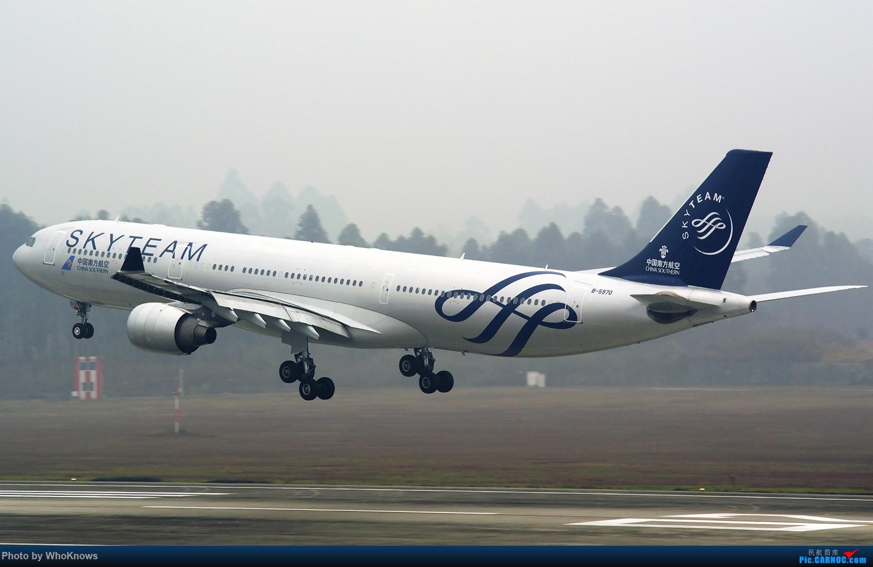 Re:[原创]大雾天气CTU。。。。 AIRBUS A330-300 B-5970 中国成都双流国际机场