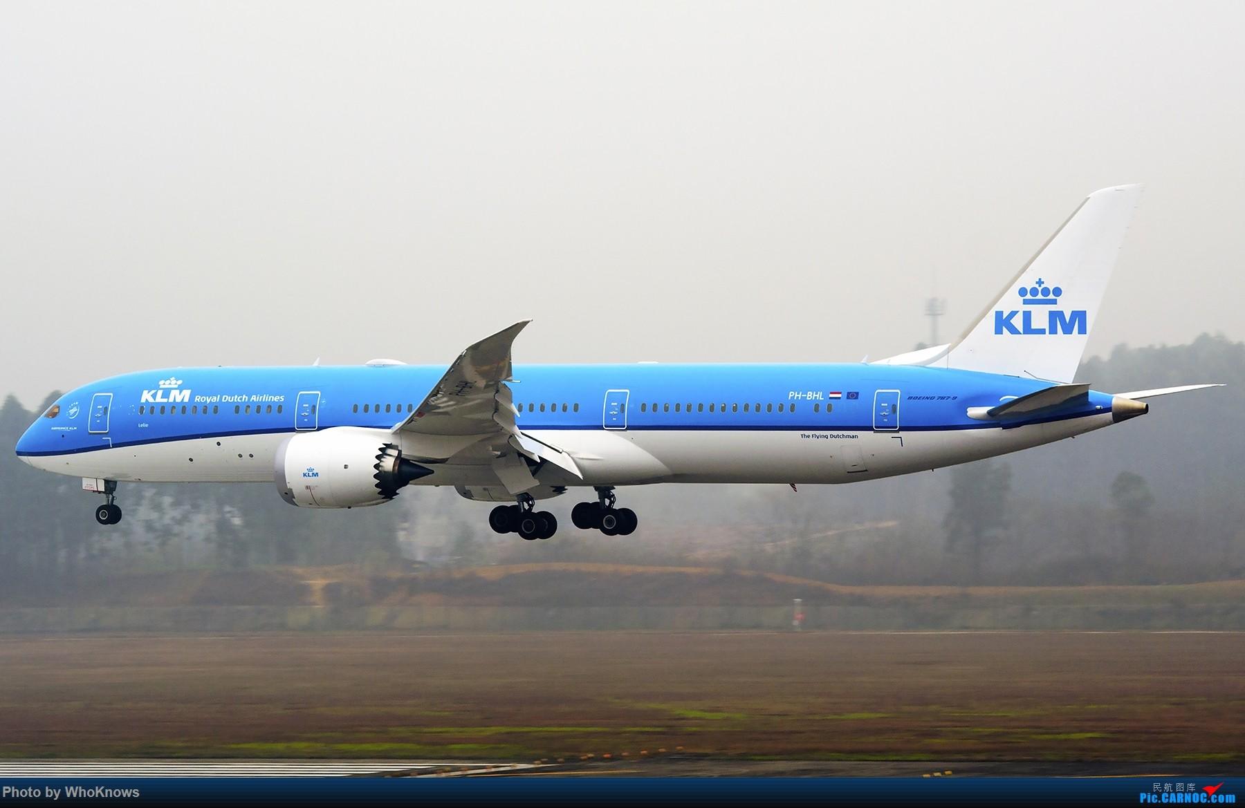 Re:[原创]大雾天气CTU。。。。 BOEING 787-9 PH-BHL 中国成都双流国际机场