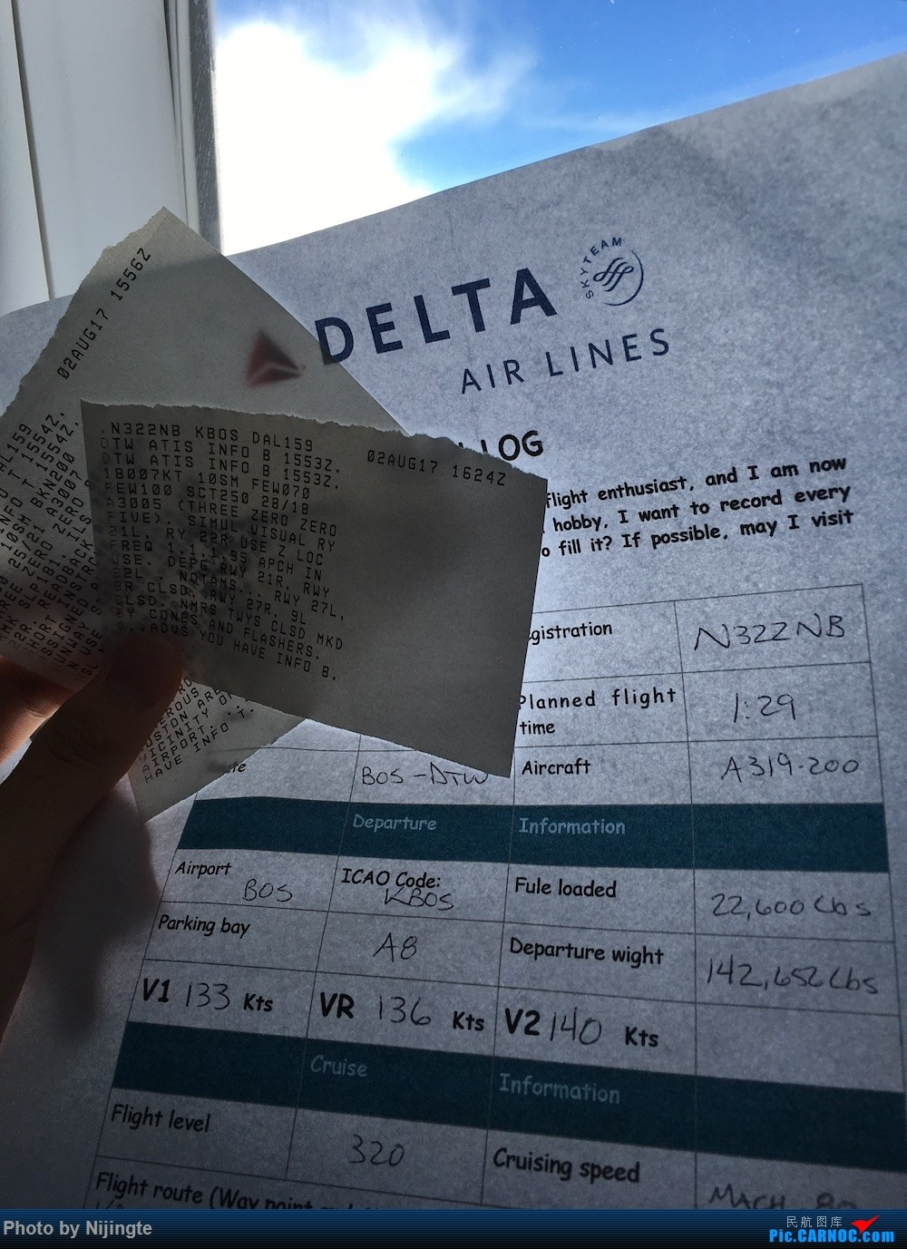 Re:[原创]五年后完成心中愿望 Delta 又惊又喜 暑假北美行 达美老爷机+新内饰 拖延 下集