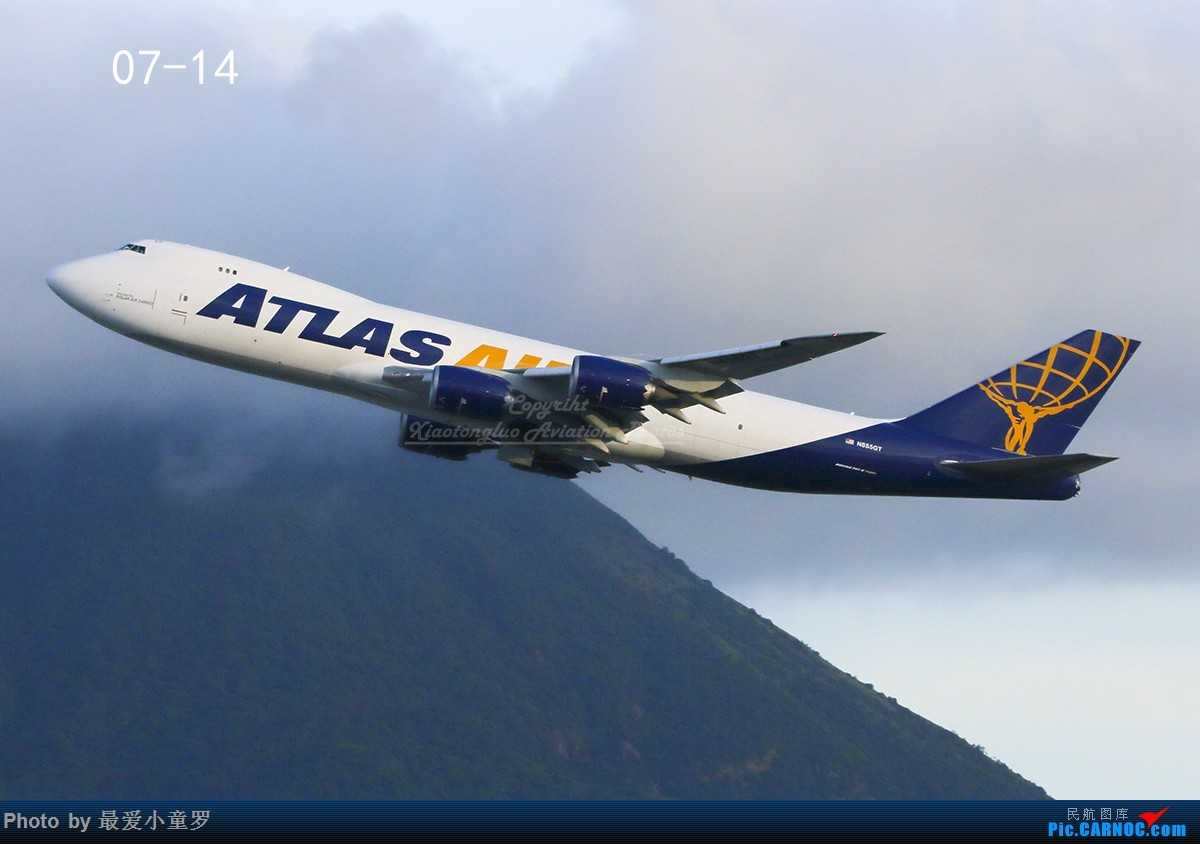 Re:[原创]小童罗的2017拍机年终总结 BOEING 747-8F N855GT 中国香港国际机场