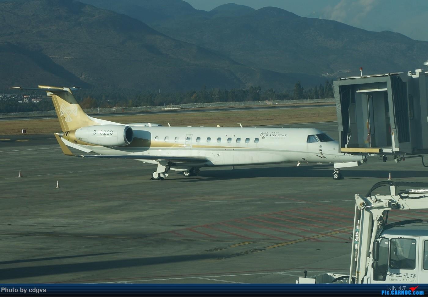 Re:KMG-LJG-KMG 东航&南航 省内刷航段,飞空客波音两种不同机型 EMBRAER LEGACY 650 B-3280 中国丽江三义机场