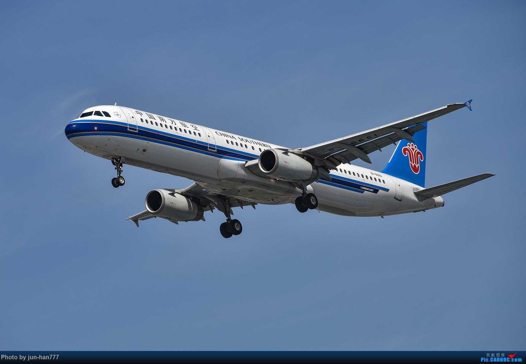 Re:进场虹桥 AIRBUS A321-200 B-6661