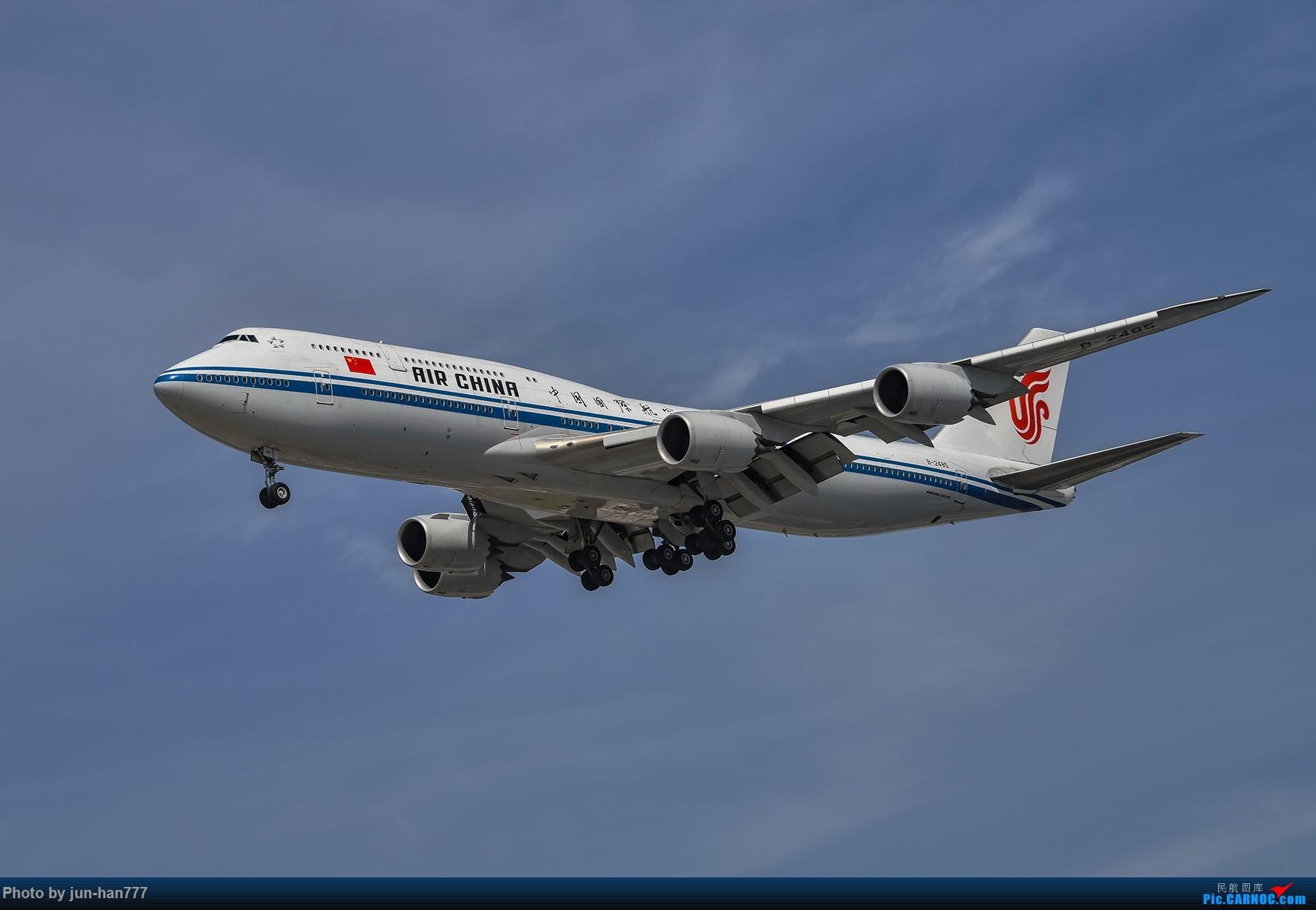 Re:[原创]进场虹桥 BOEING 747-8I B-2485