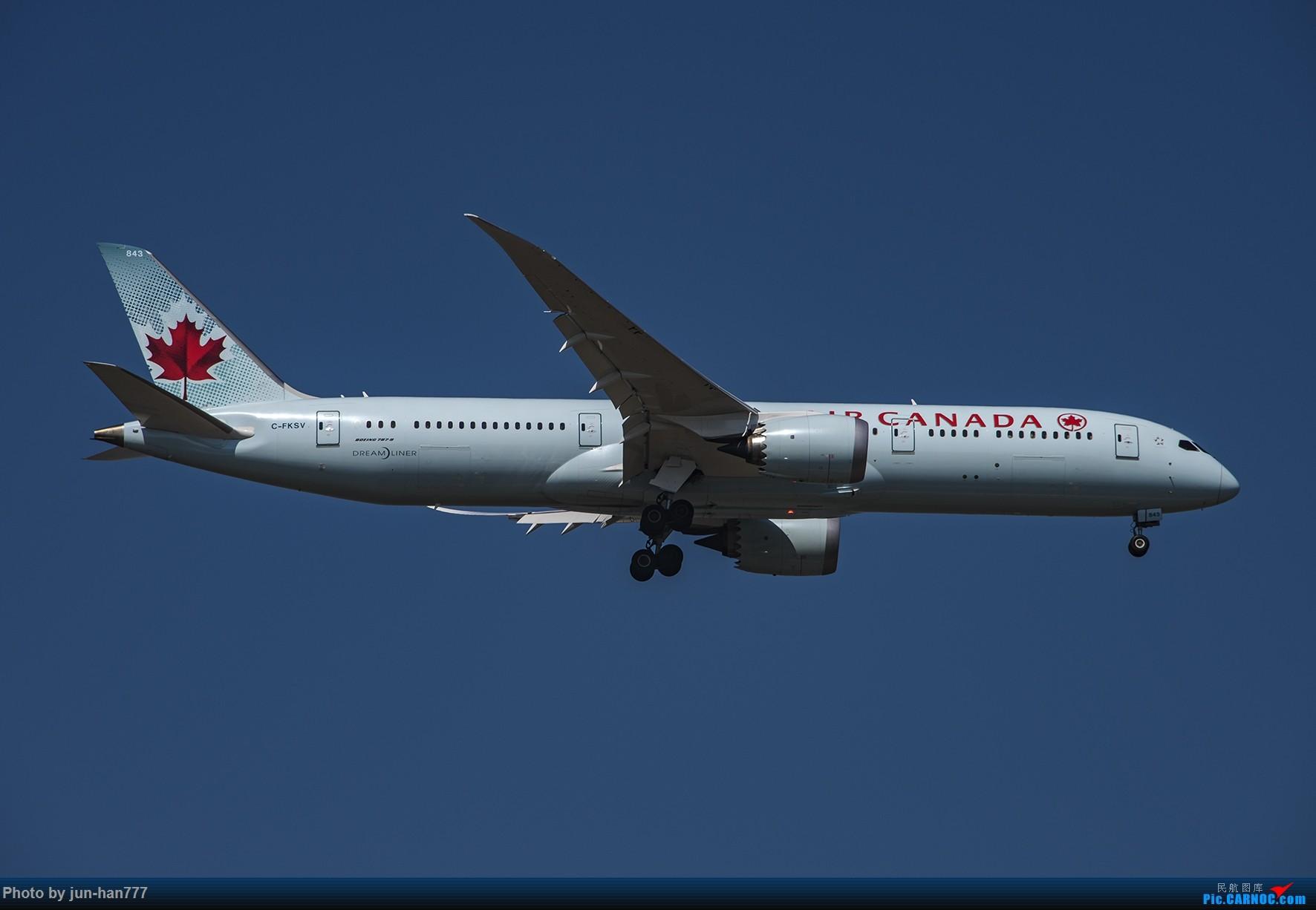 Re:一组外航在PVG进场 BOEING 787-9