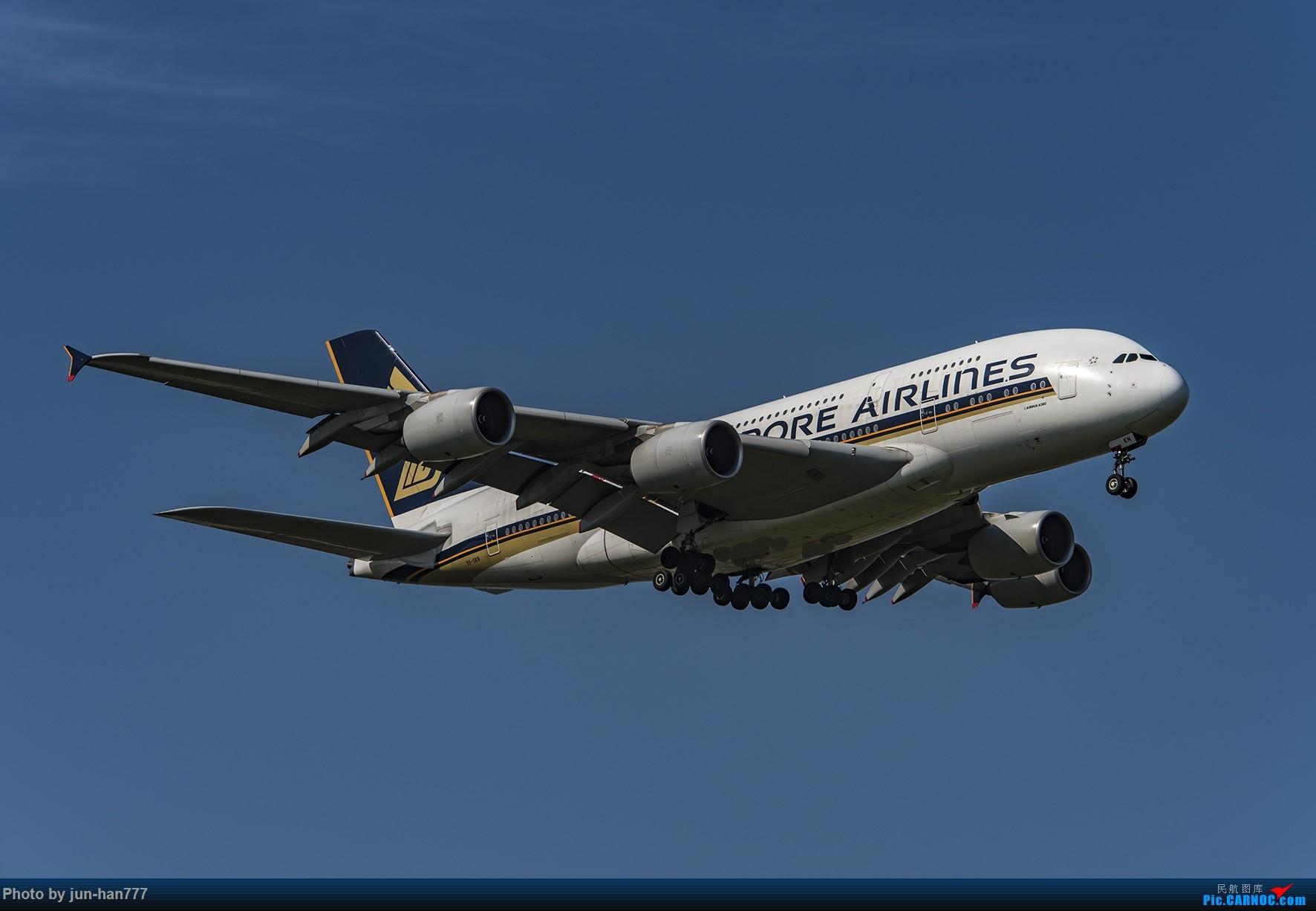 Re:[原创]一组外航在PVG进场 AIRBUS A380-800