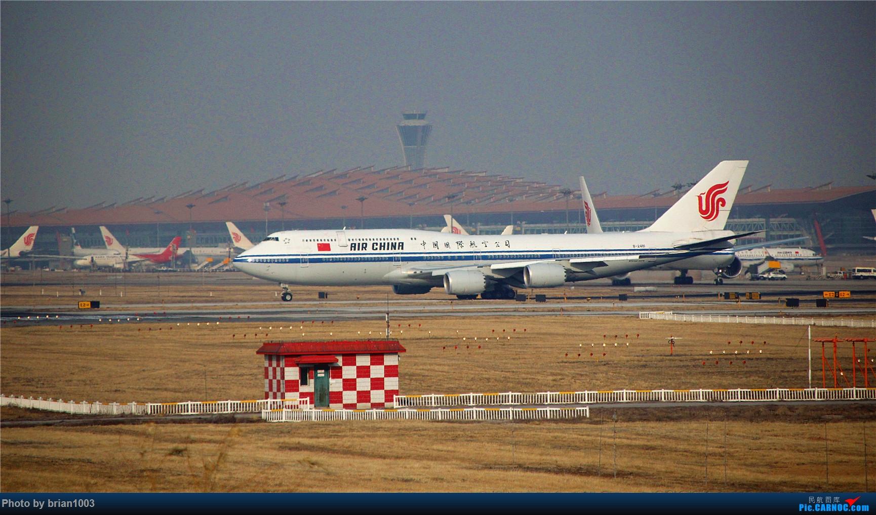 [原创]PEK八卦台拍机 BOEING 747-8I B-2481 首都机场