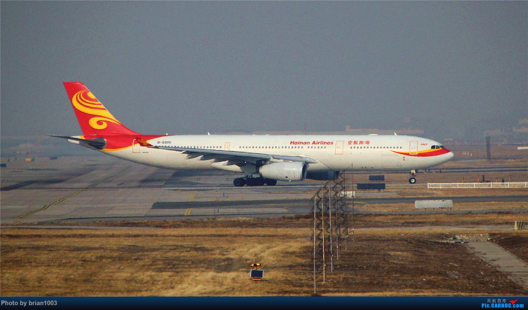 Re:[原创]PEK八卦台拍机 AIRBUS A330-300 B-5905 首都机场