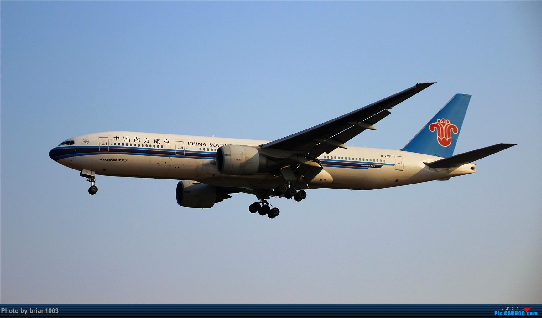 Re:[原创]PEK八卦台拍机 BOEING 777-200 B-2051 首都机场