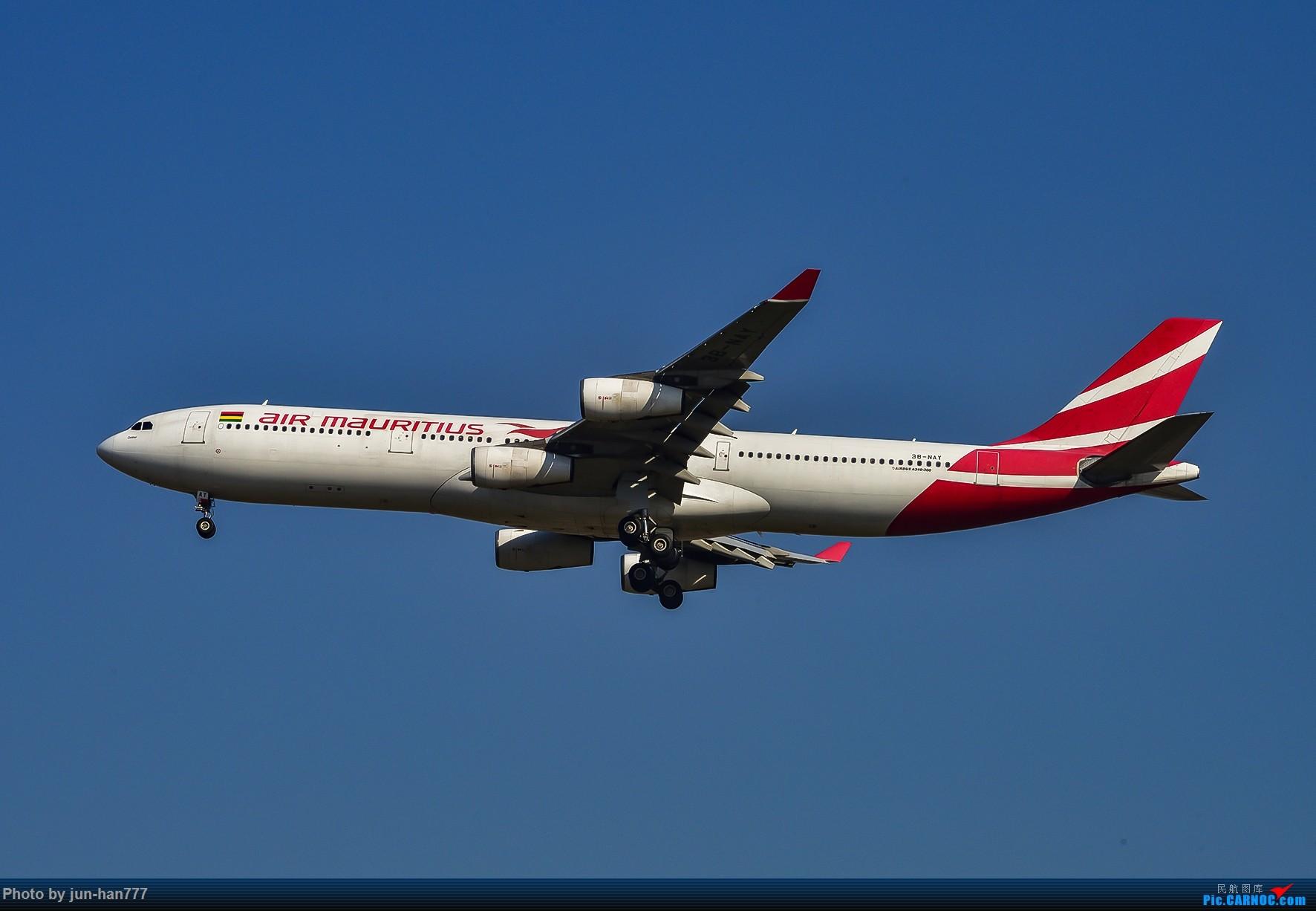 PVG西跑进场 AIRBUS A340-300