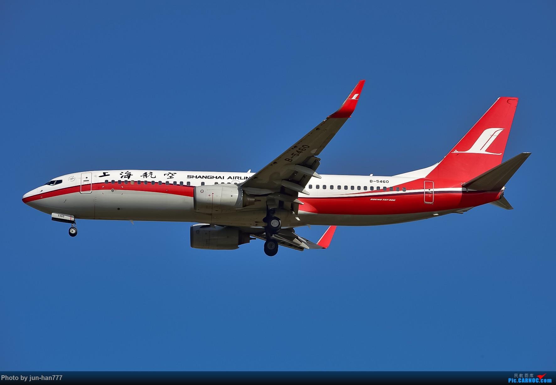 Re:[原创]PVG西跑进场 BOEING 737-800 B-5460